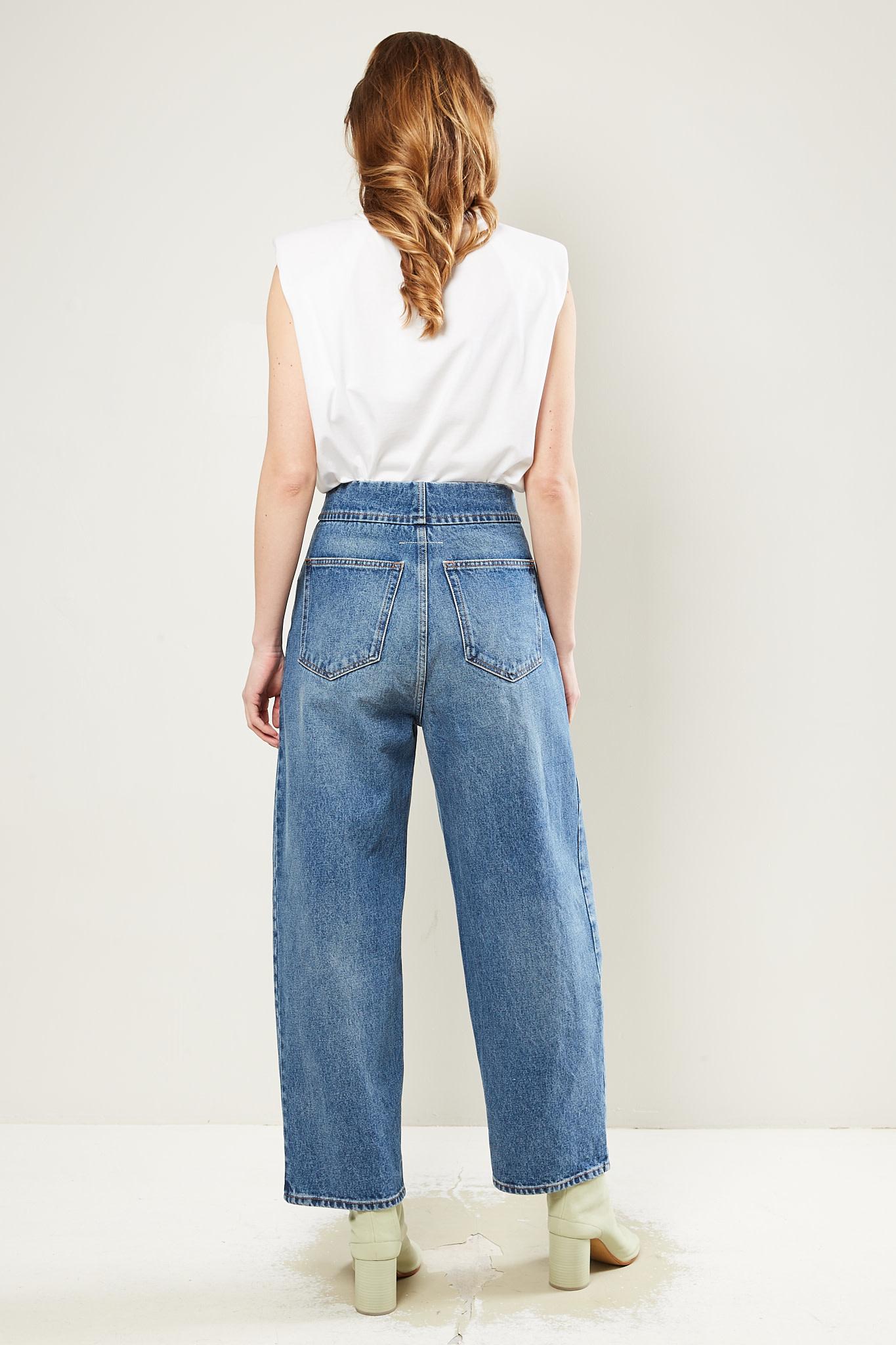 MM6 - Pants button 5 pockets MM6