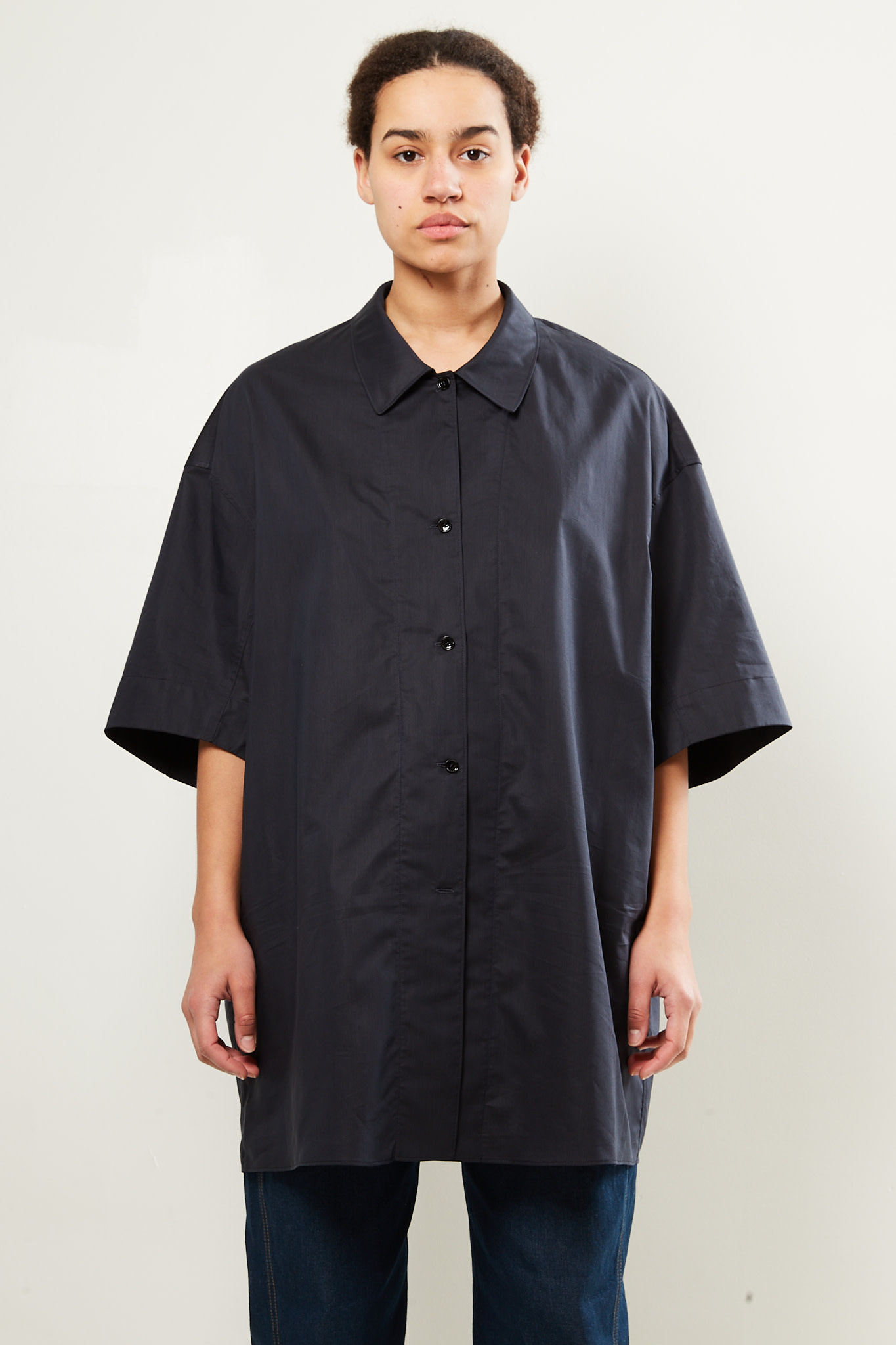 Lemaire - Twisted maxi shirt