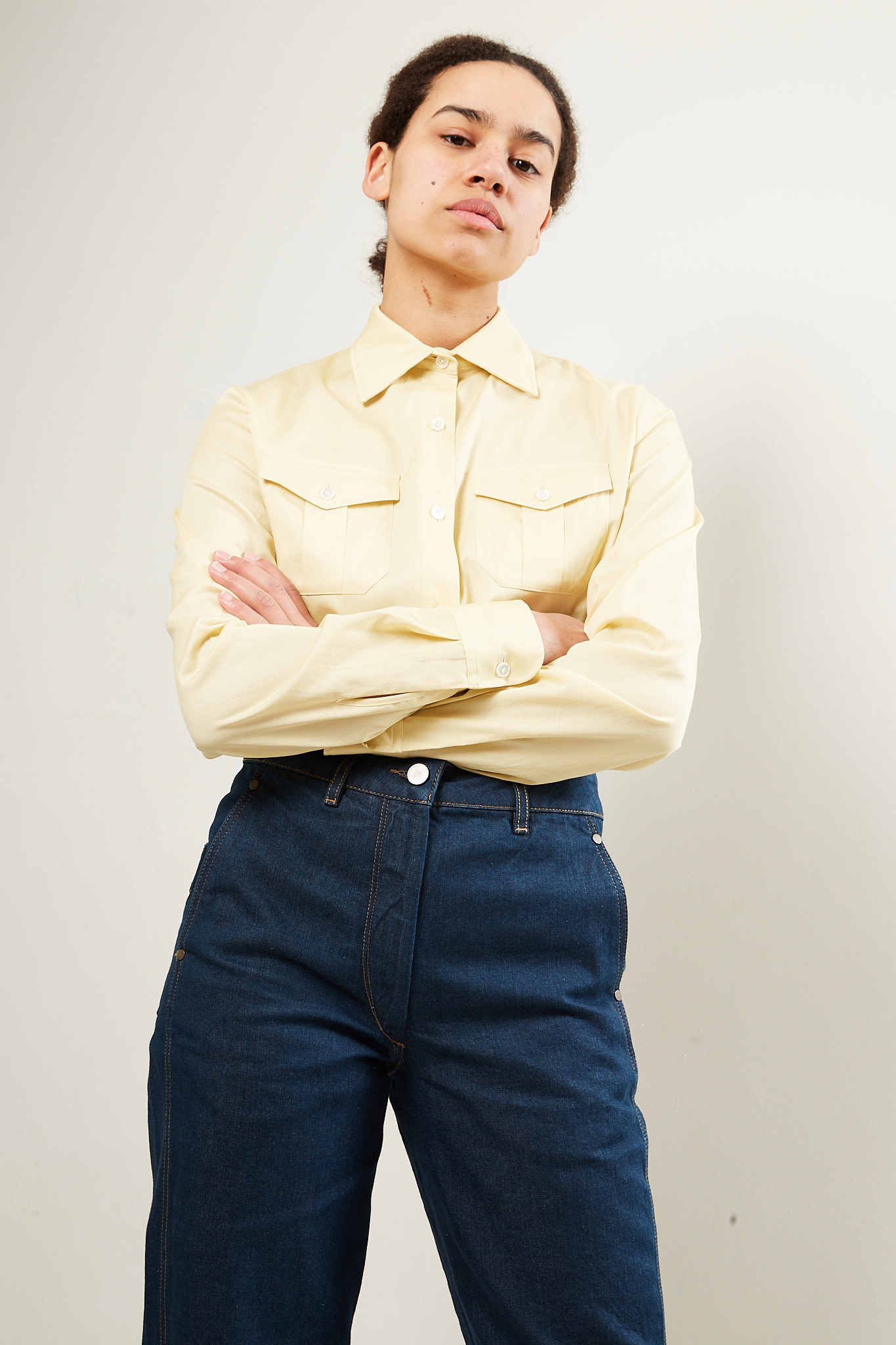 Lemaire 2 pocket shirt