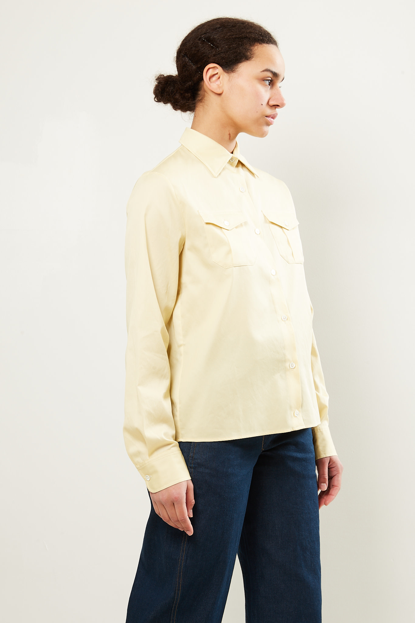 Lemaire - 2 pocket shirt