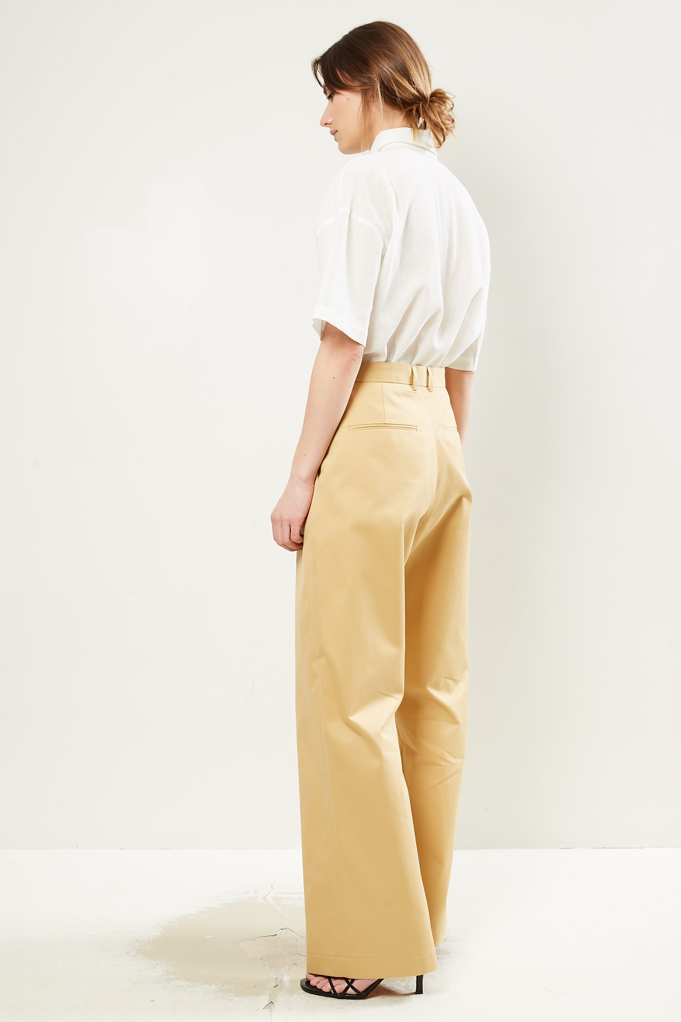 inDRESS - Cotton pants square Marie-Louise