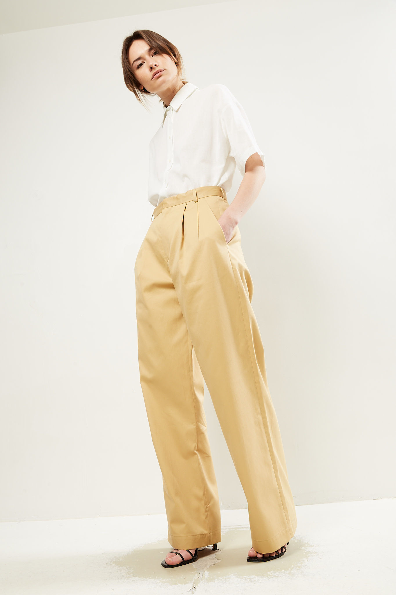 inDRESS Cotton pants square Marie-Louise