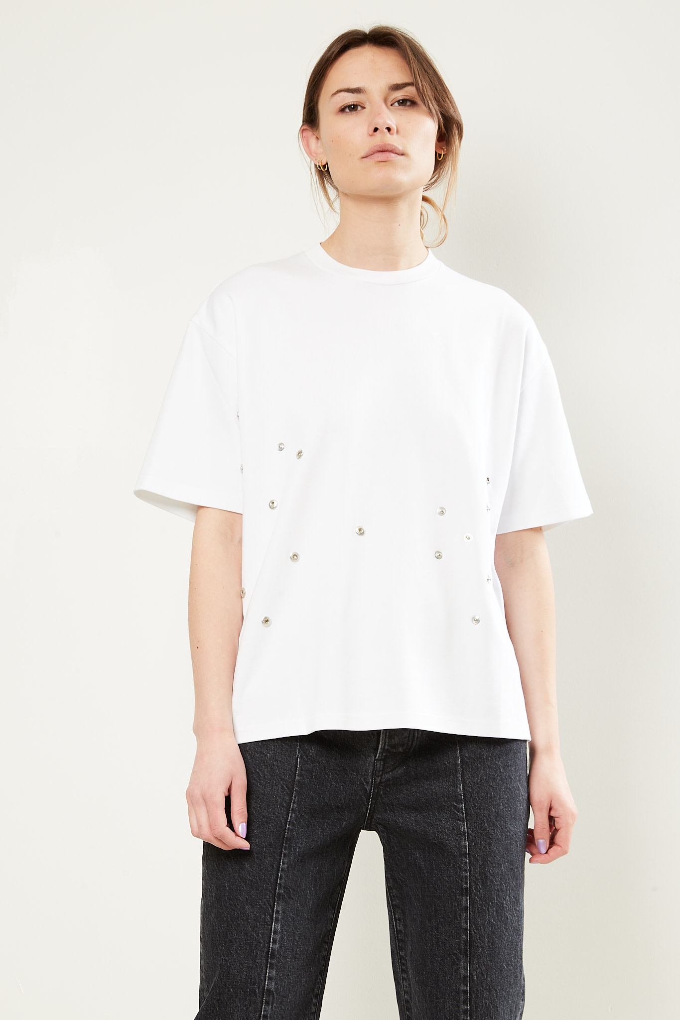 Frenken - Lava cotton jersey top