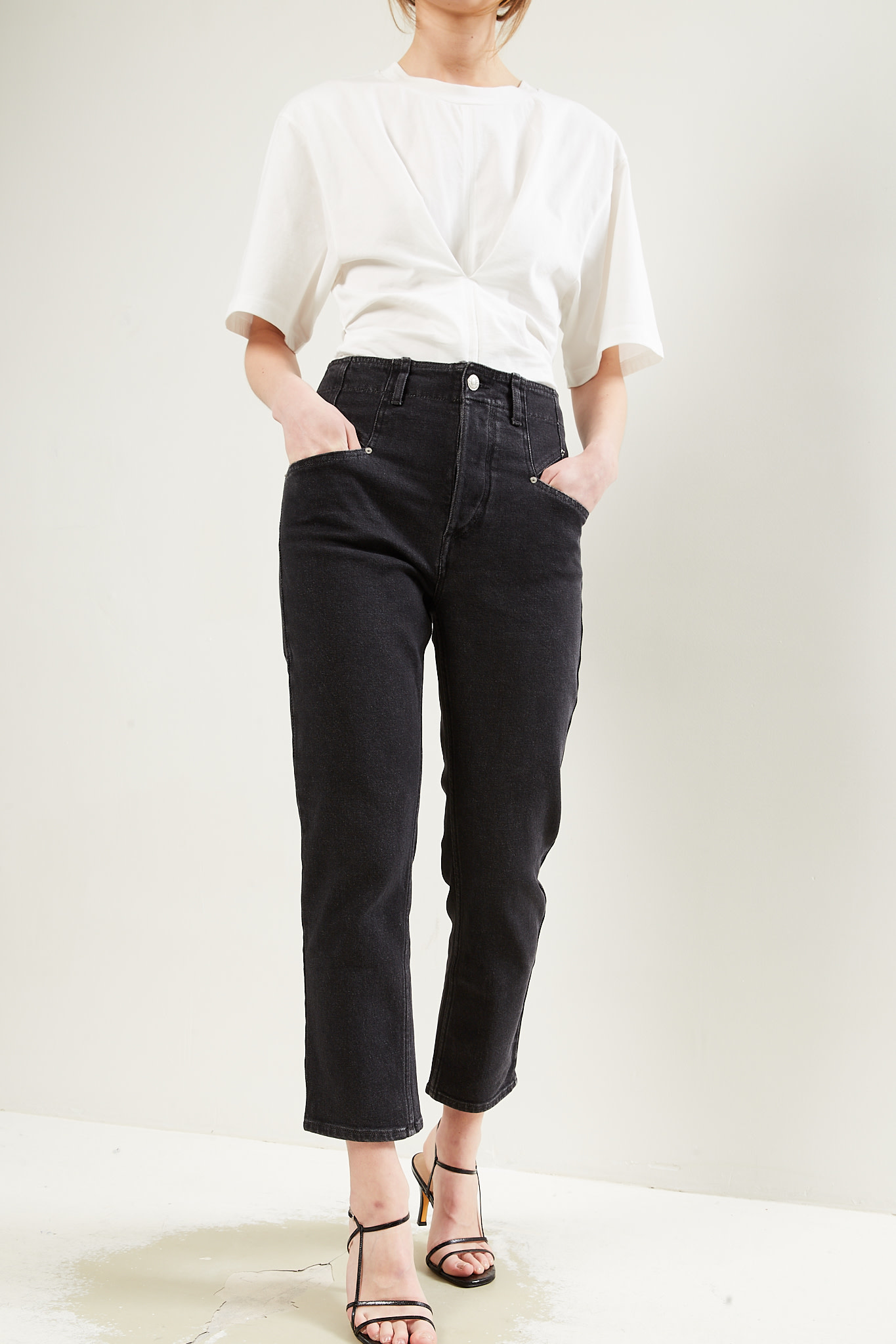 Isabel Marant Dilianesr stretch denim pants