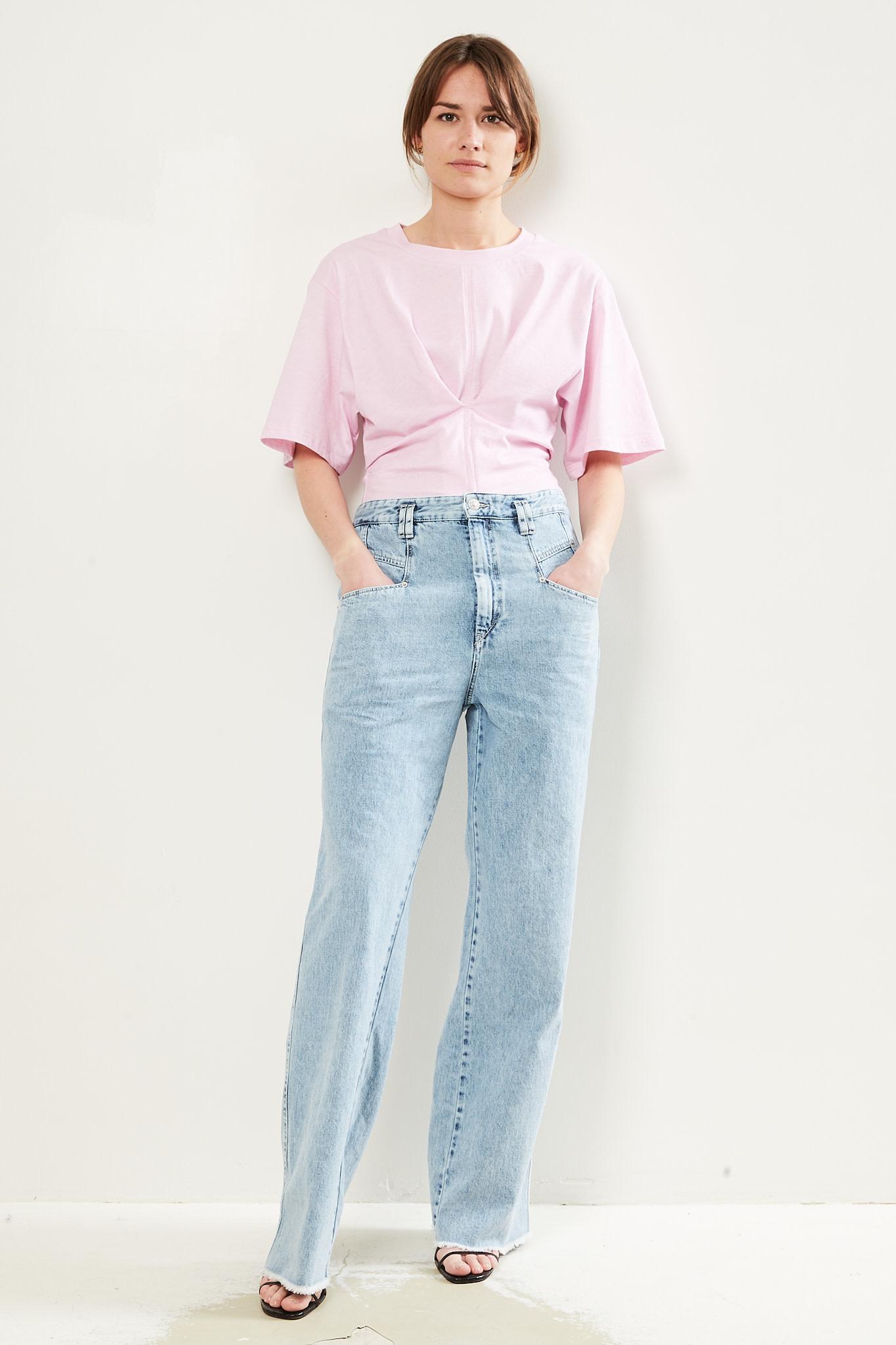 Isabel Marant - Soyona colored jersey t shirt