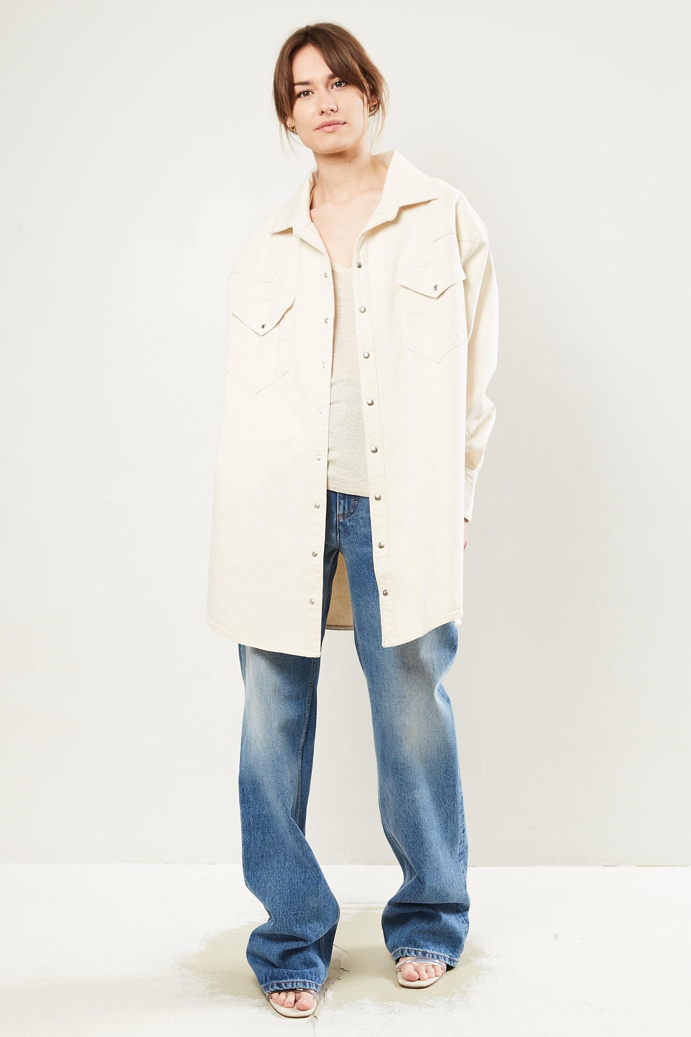 Facon Jacmīn - Gloria oversized shirt dress