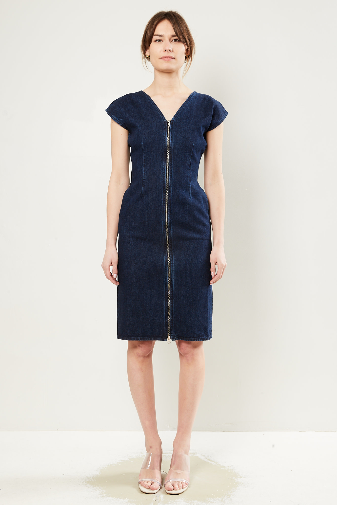 Facon Jacmīn Ruby zip dress