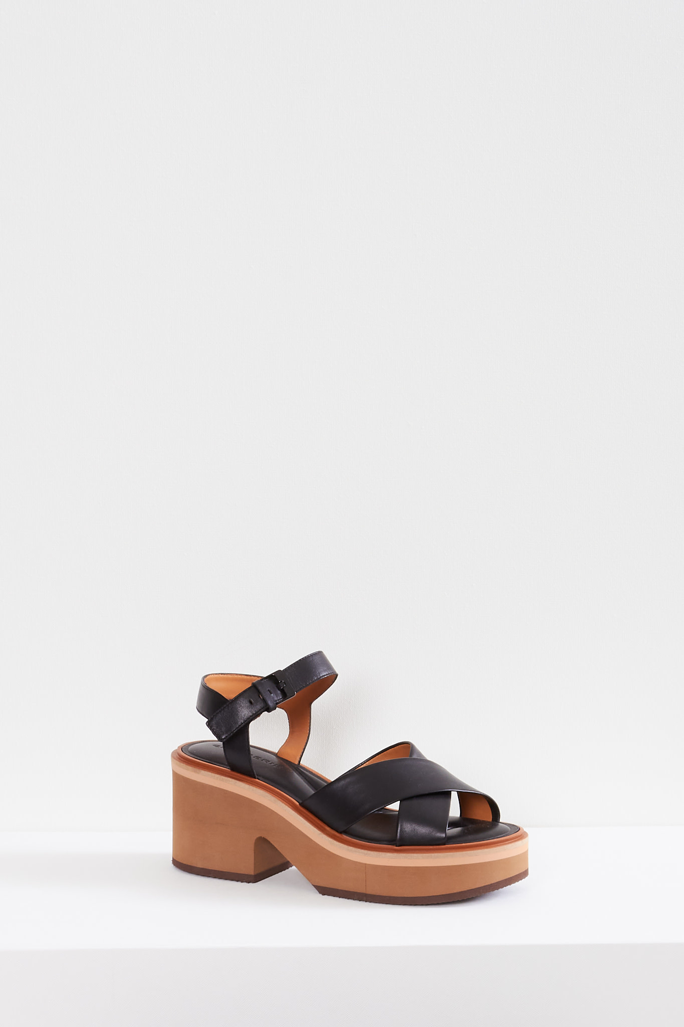 Clergerie Charline leather sandals