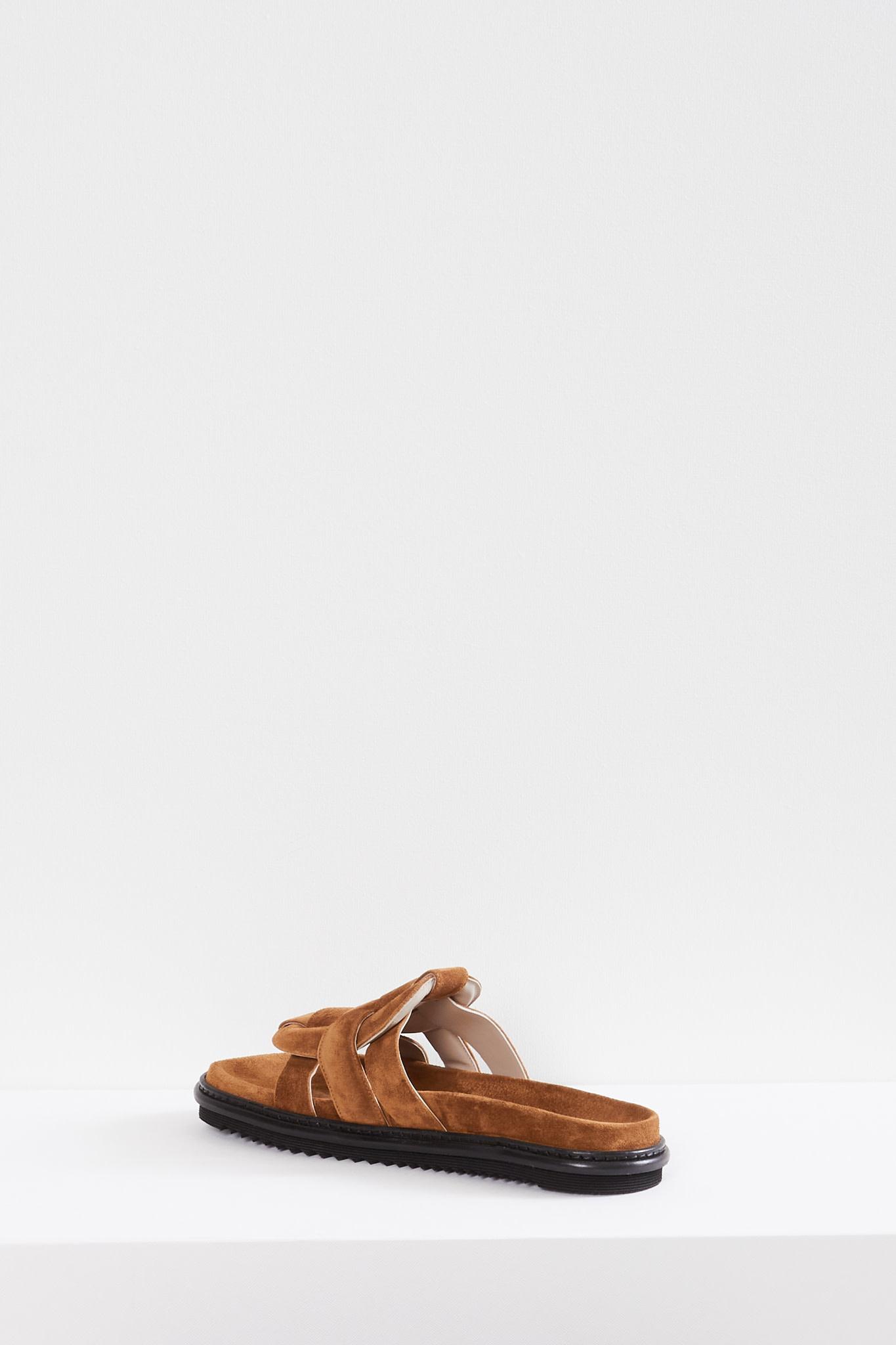 Morobé - Emilia crosta leather sandals