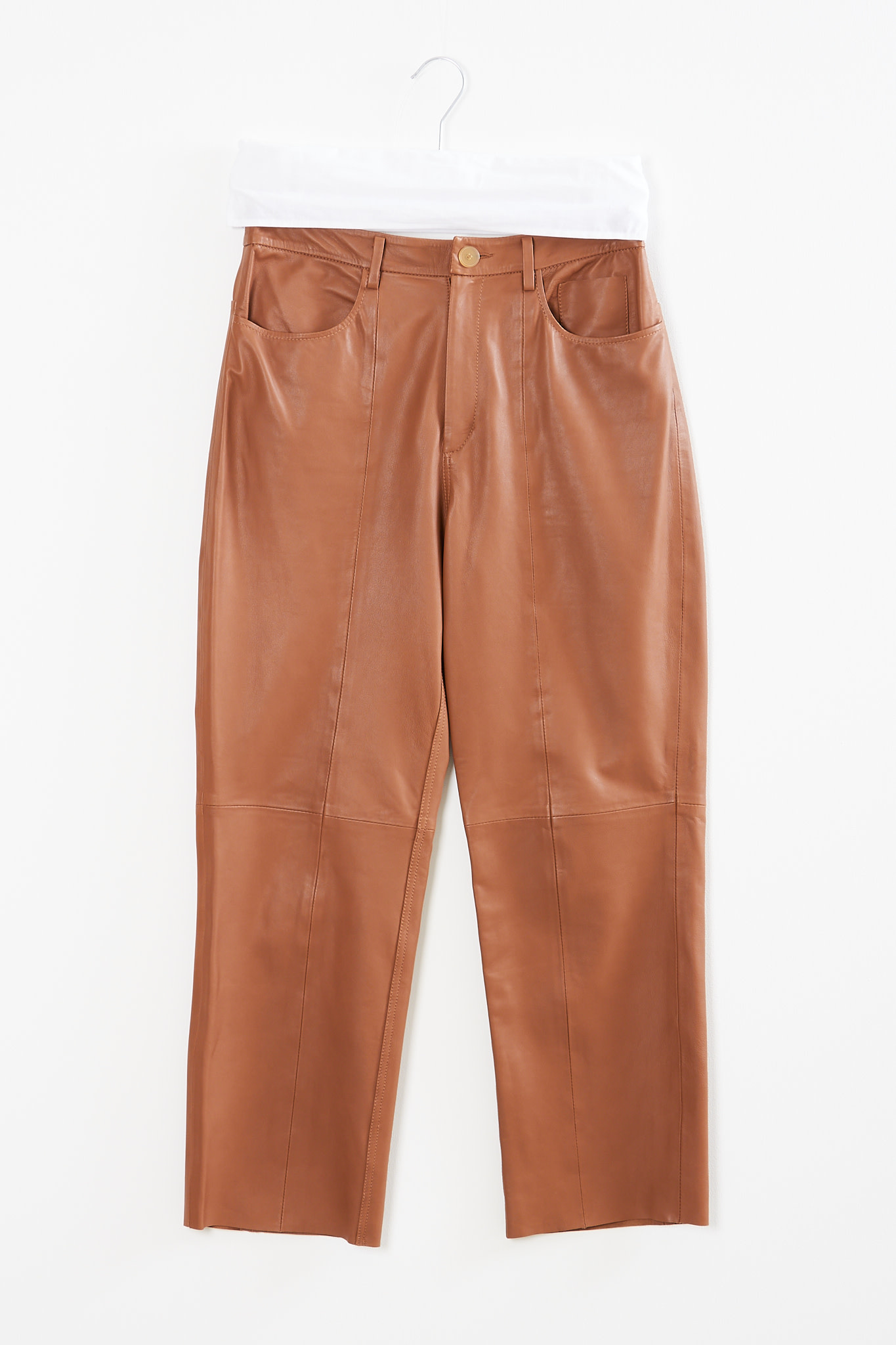 Forte Forte - Nappa leather pants
