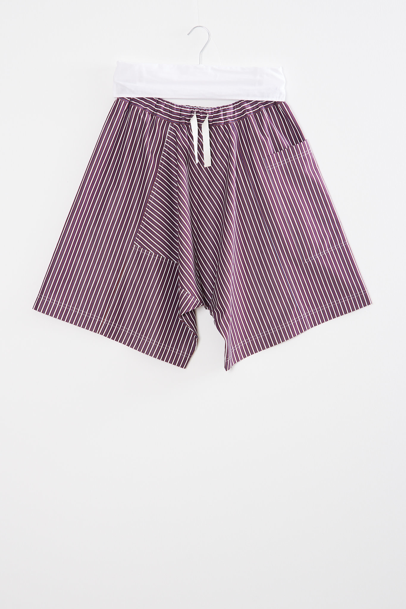 Sofie d'Hoore - Pulse striped cotton shorts