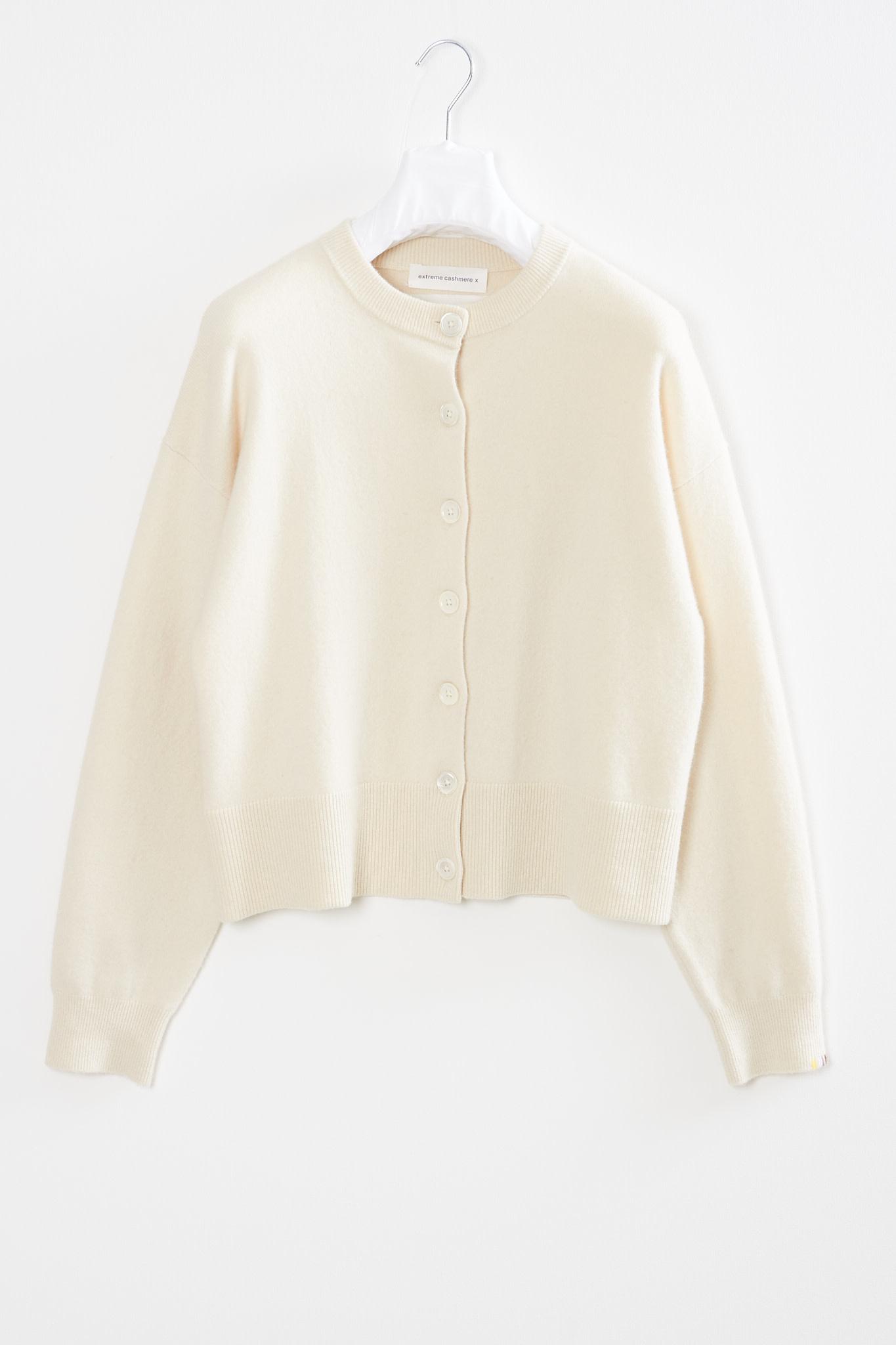 extreme cashmere Chou comfort fit cardigan