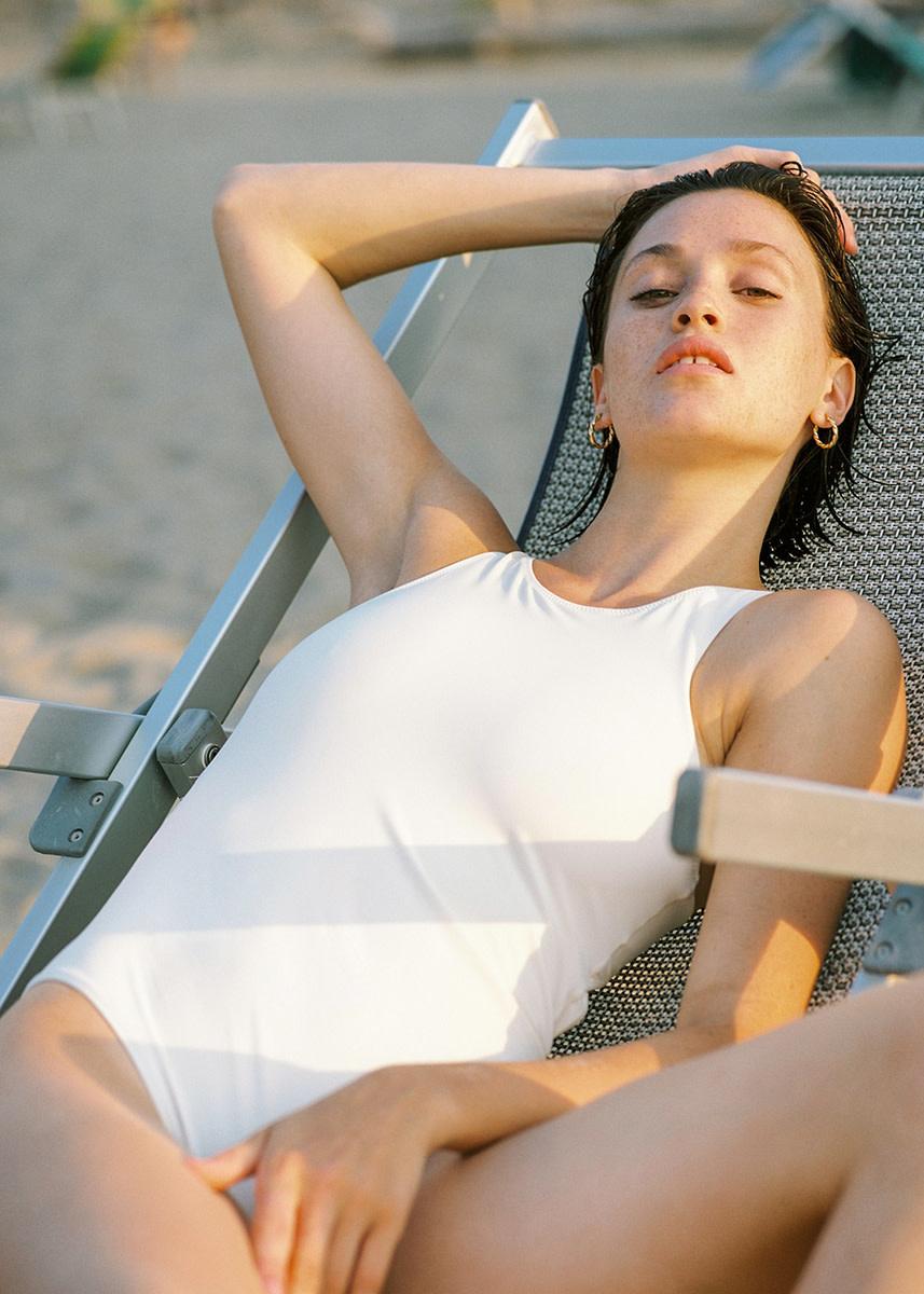 lido - Quattordici high neck swimsuit