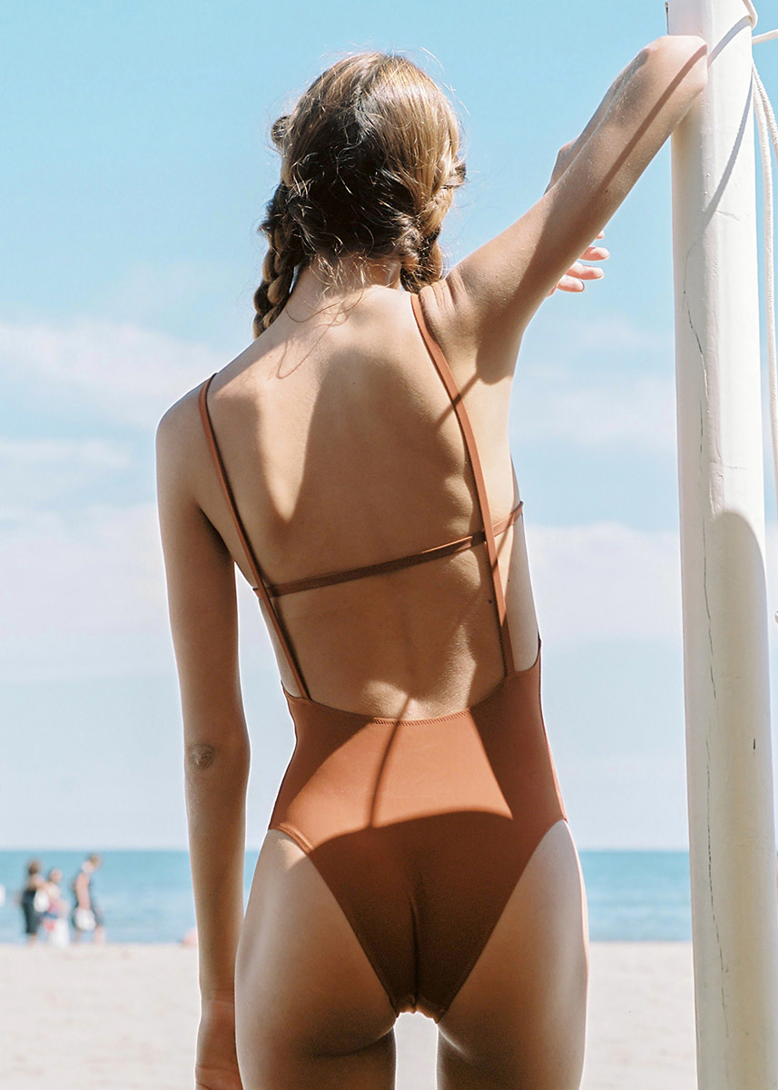 lido - Tre geometrical swimsuit