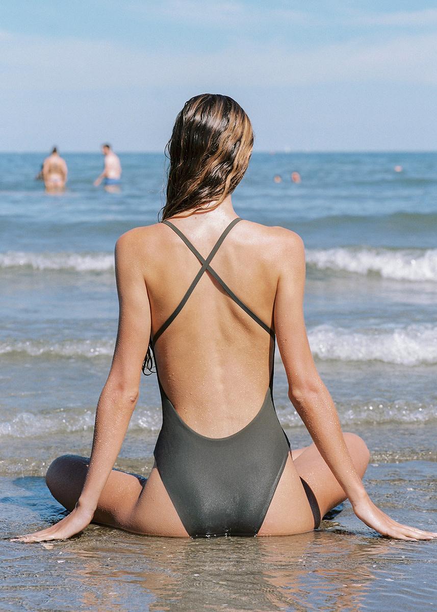 lido - Uno cross back swimsuit