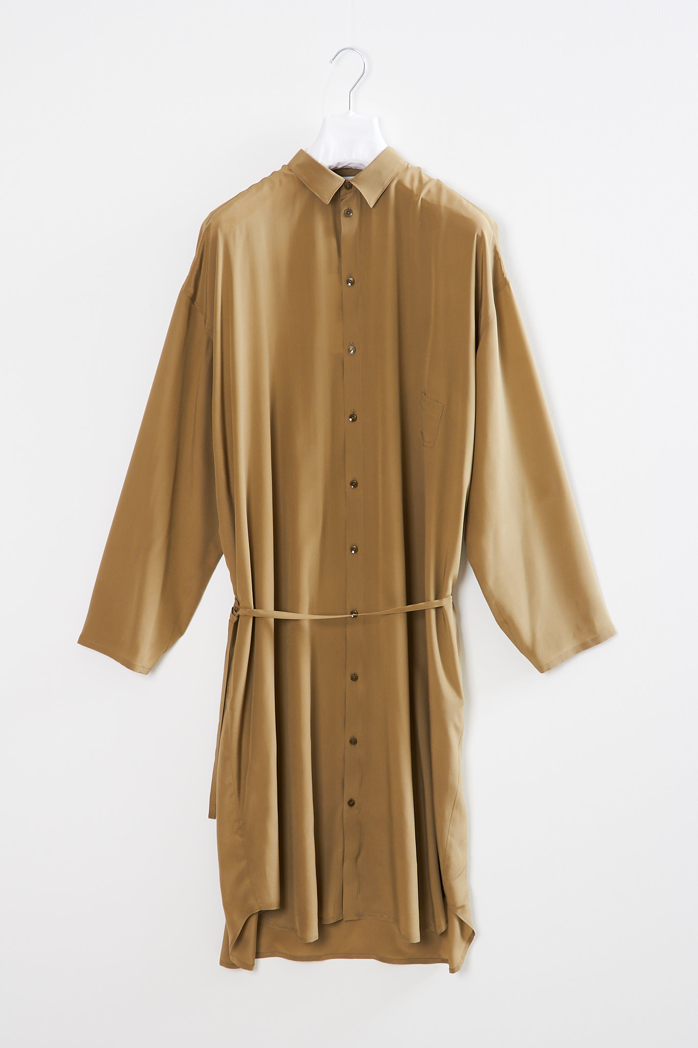 Monique van Heist - 10.2 silk shirt dress