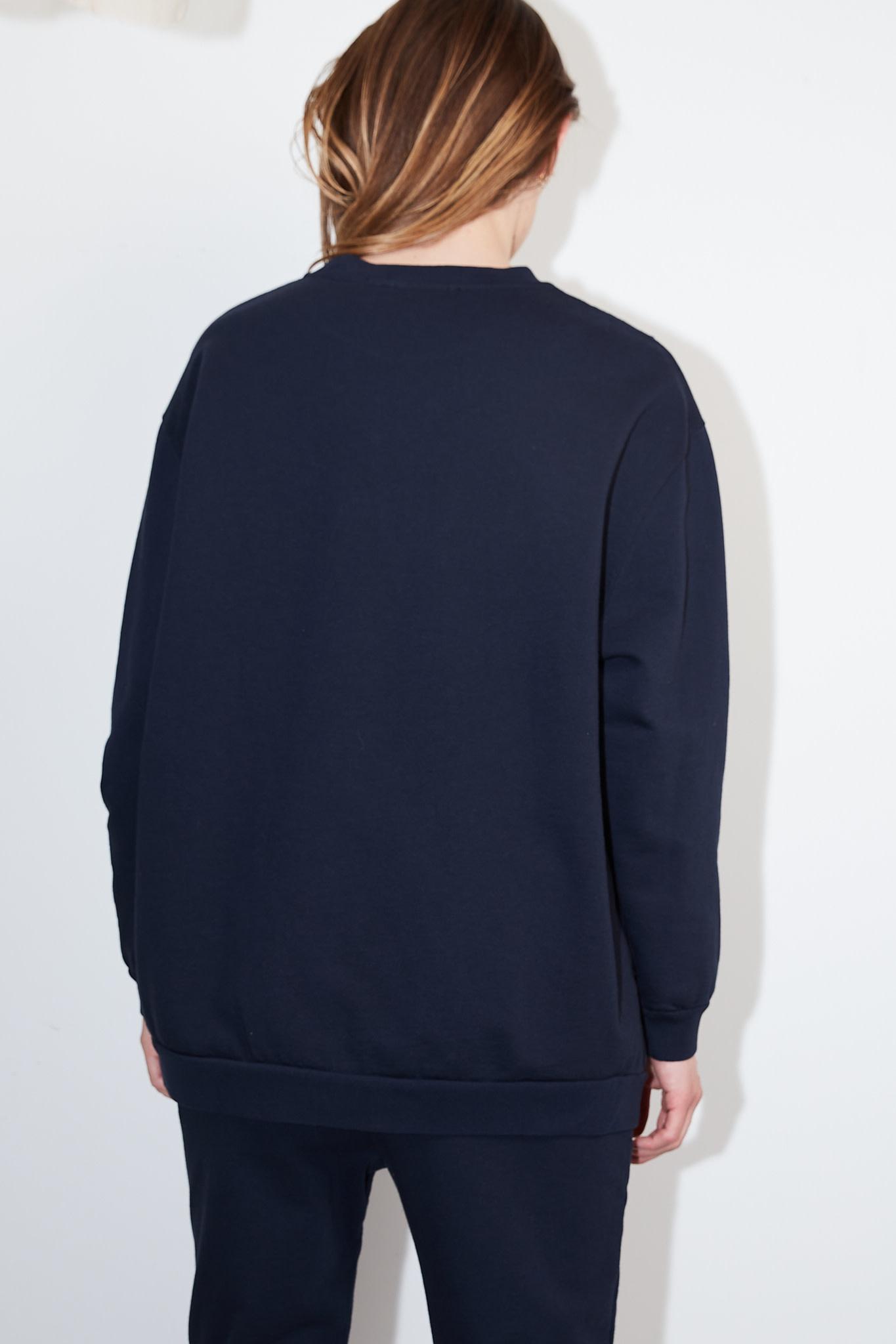 Can Pep Rey - Frensh terry oversized sweatshirt