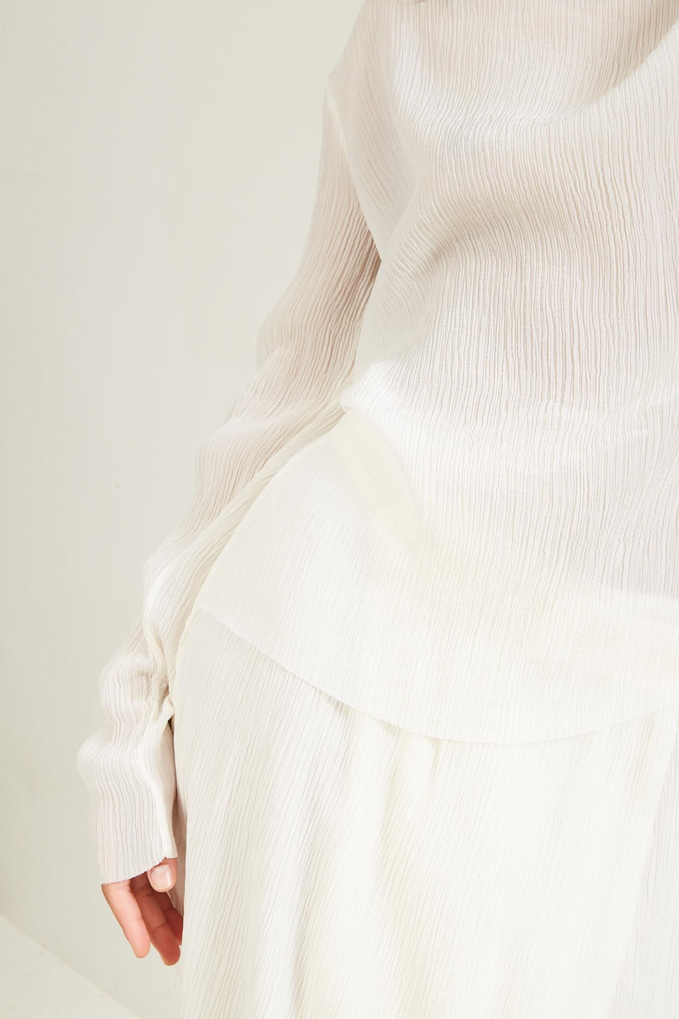 Aeron - Garam silk blend top