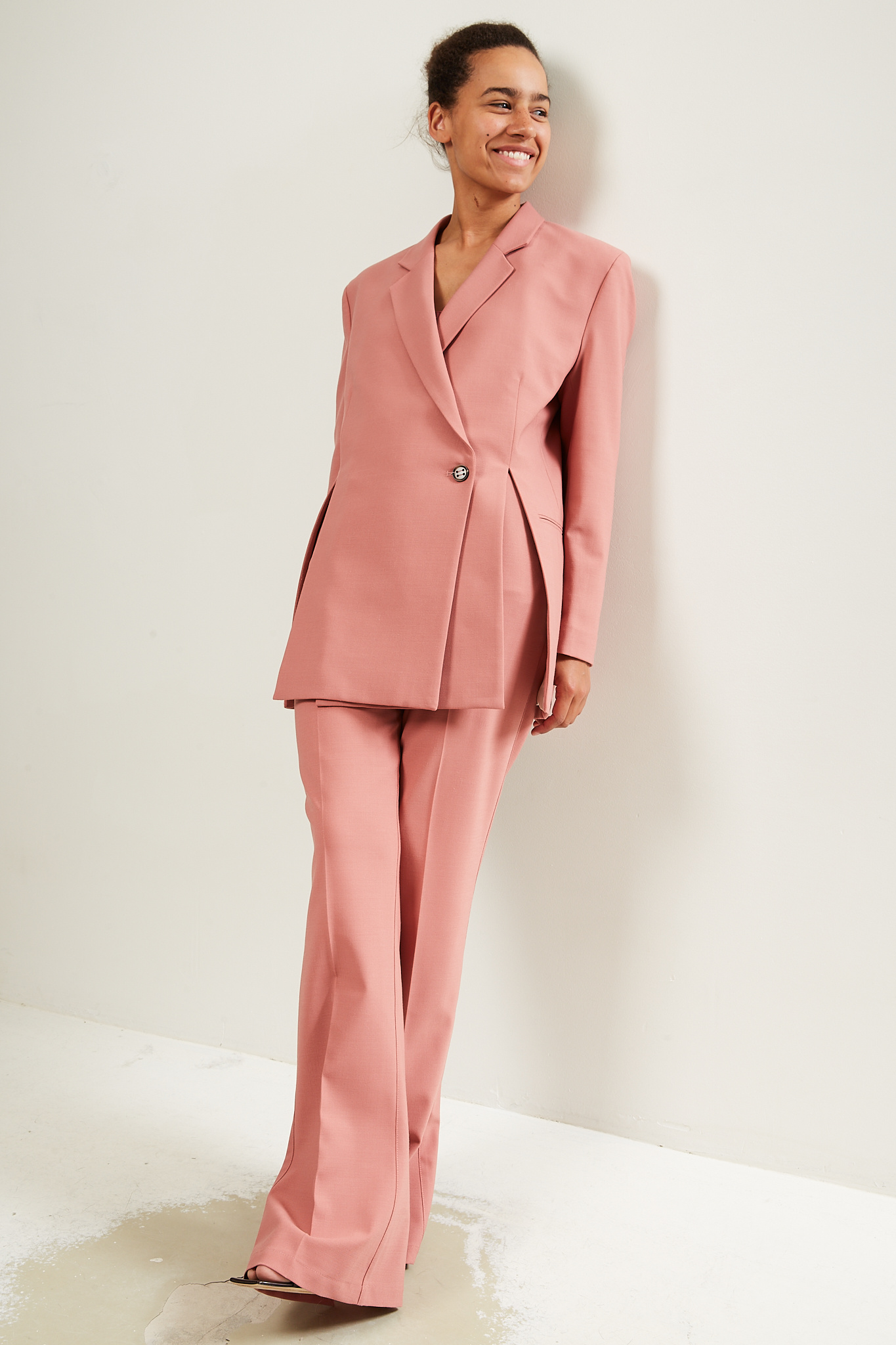 Aeron - Jamuna poly wool trousers