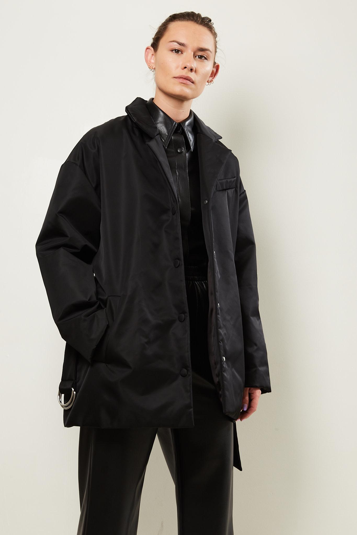 Nanushka - Liban nylon canvas jacket