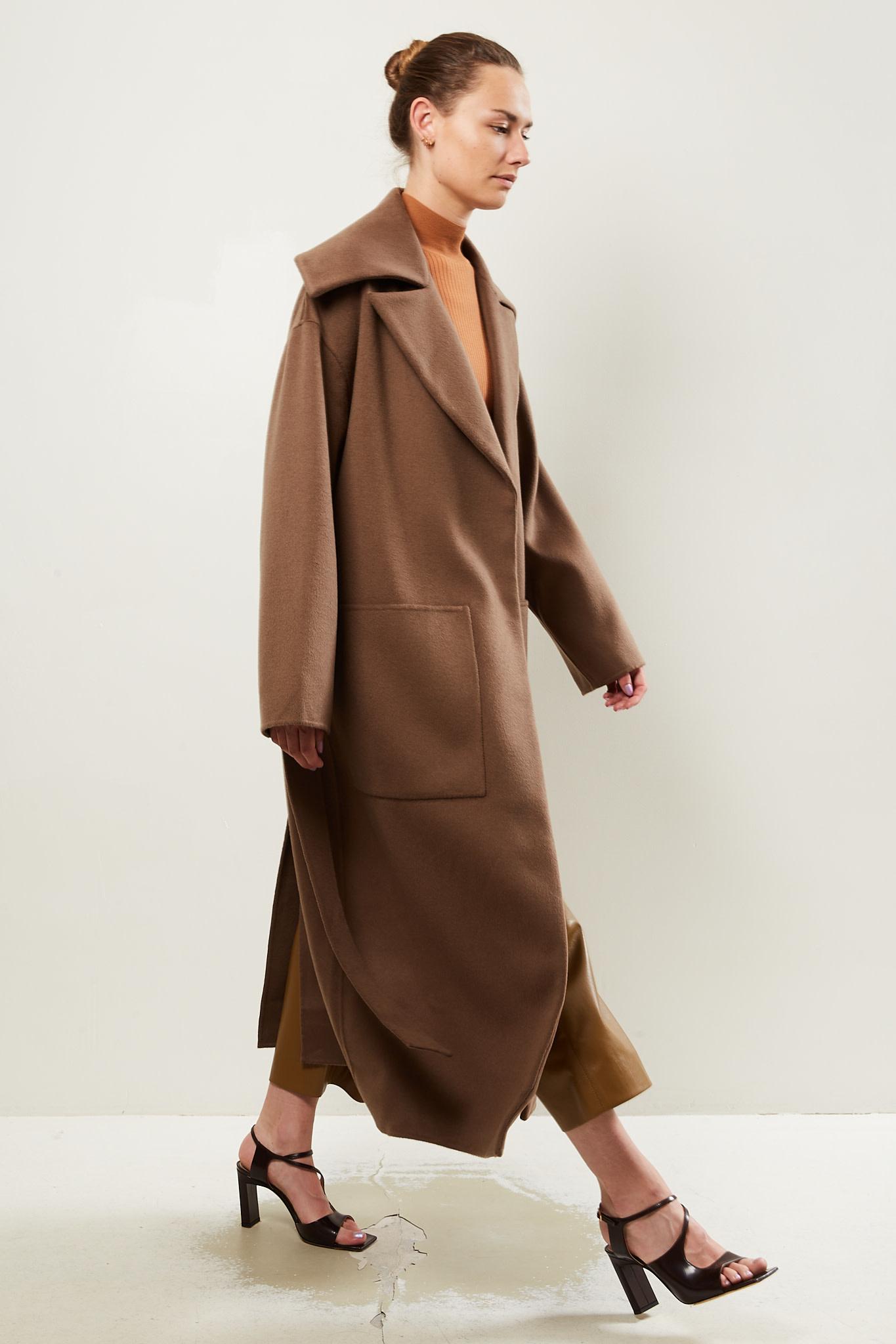 Nanushka - Soa double wool coat