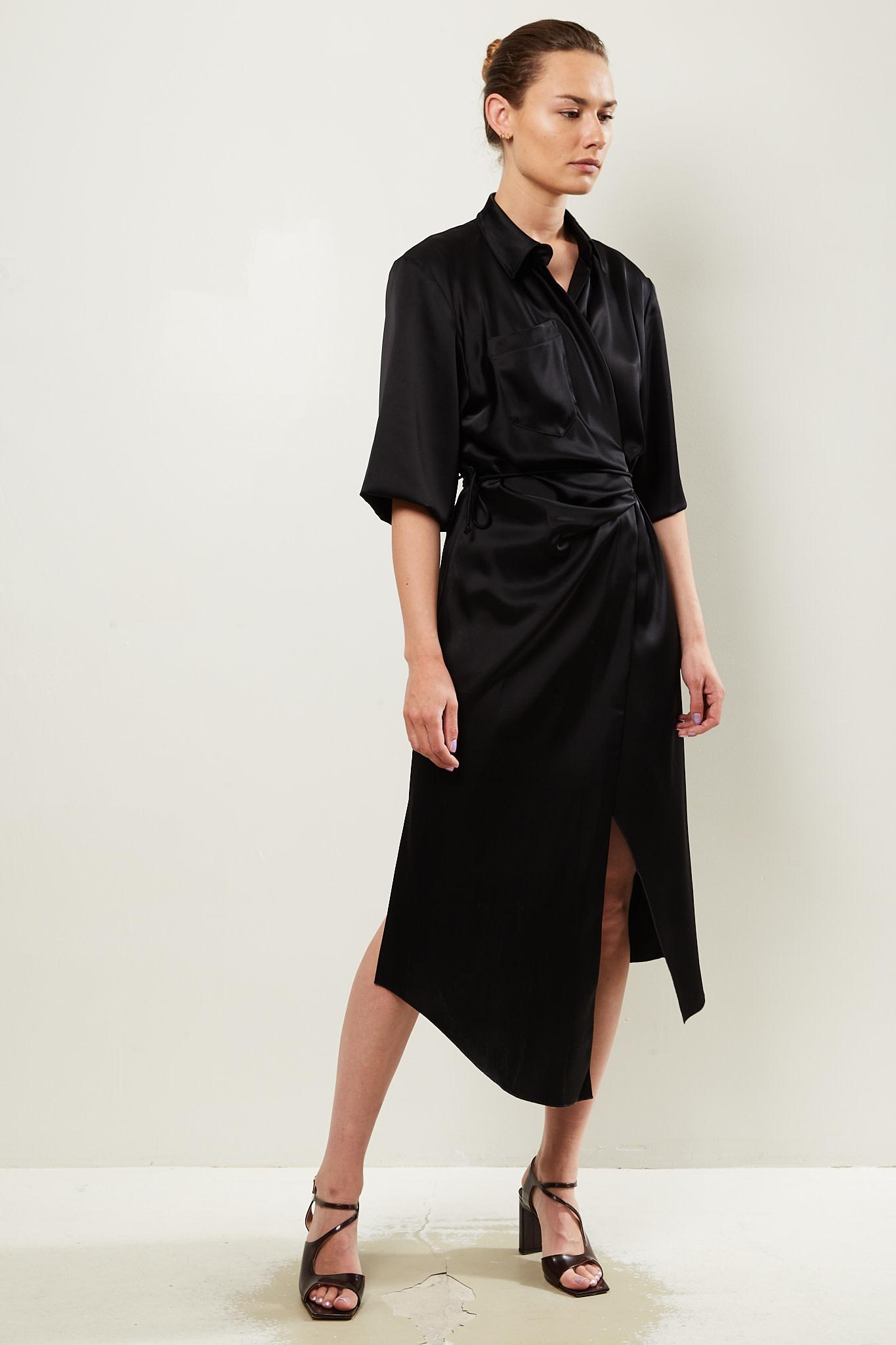 Nanushka Lais slip satin dress