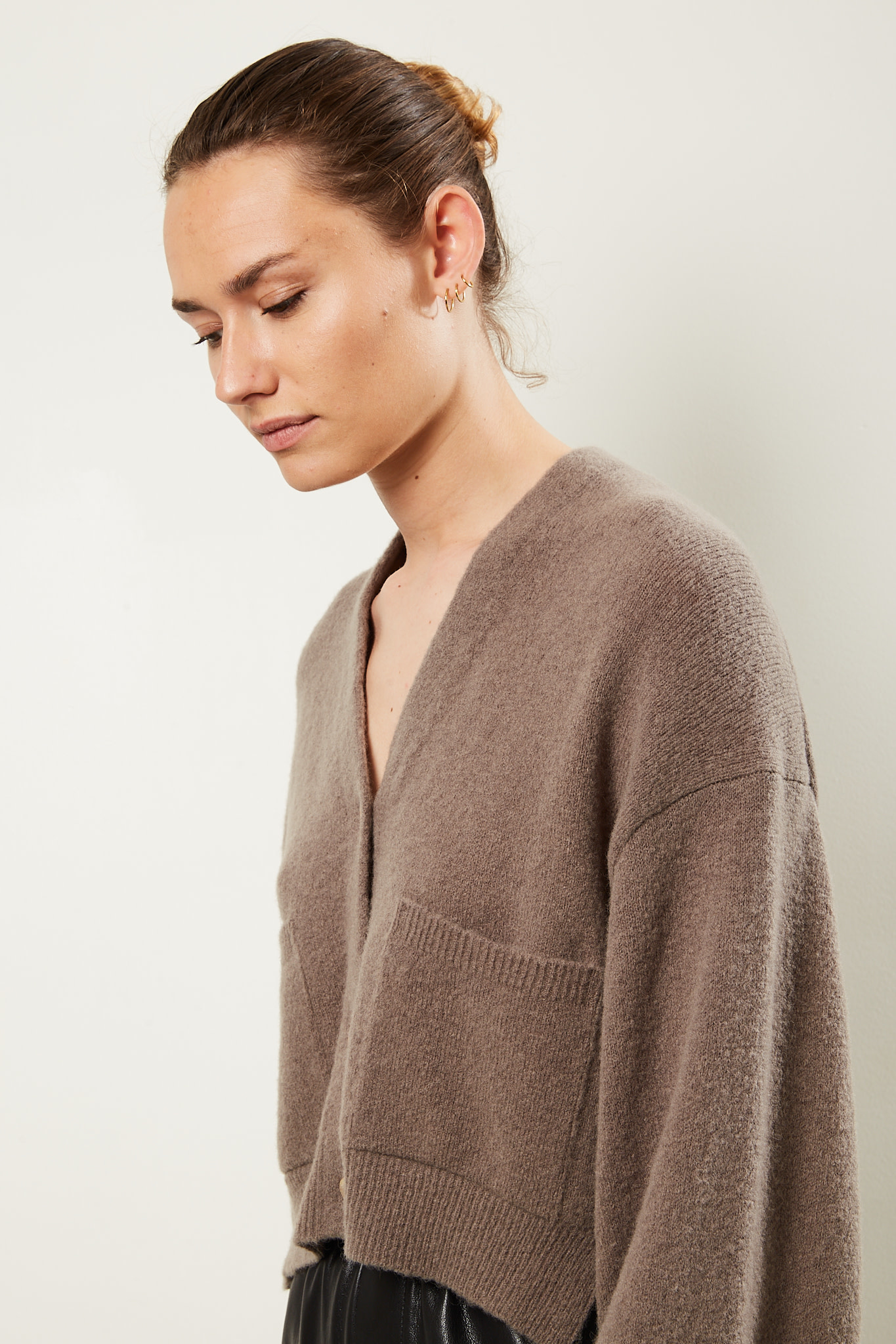 Nanushka - Effie boucle knit cardigan