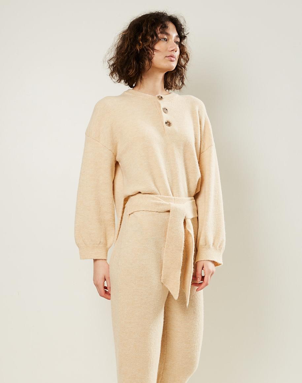 Nanushka - Nea fluffy knit pants