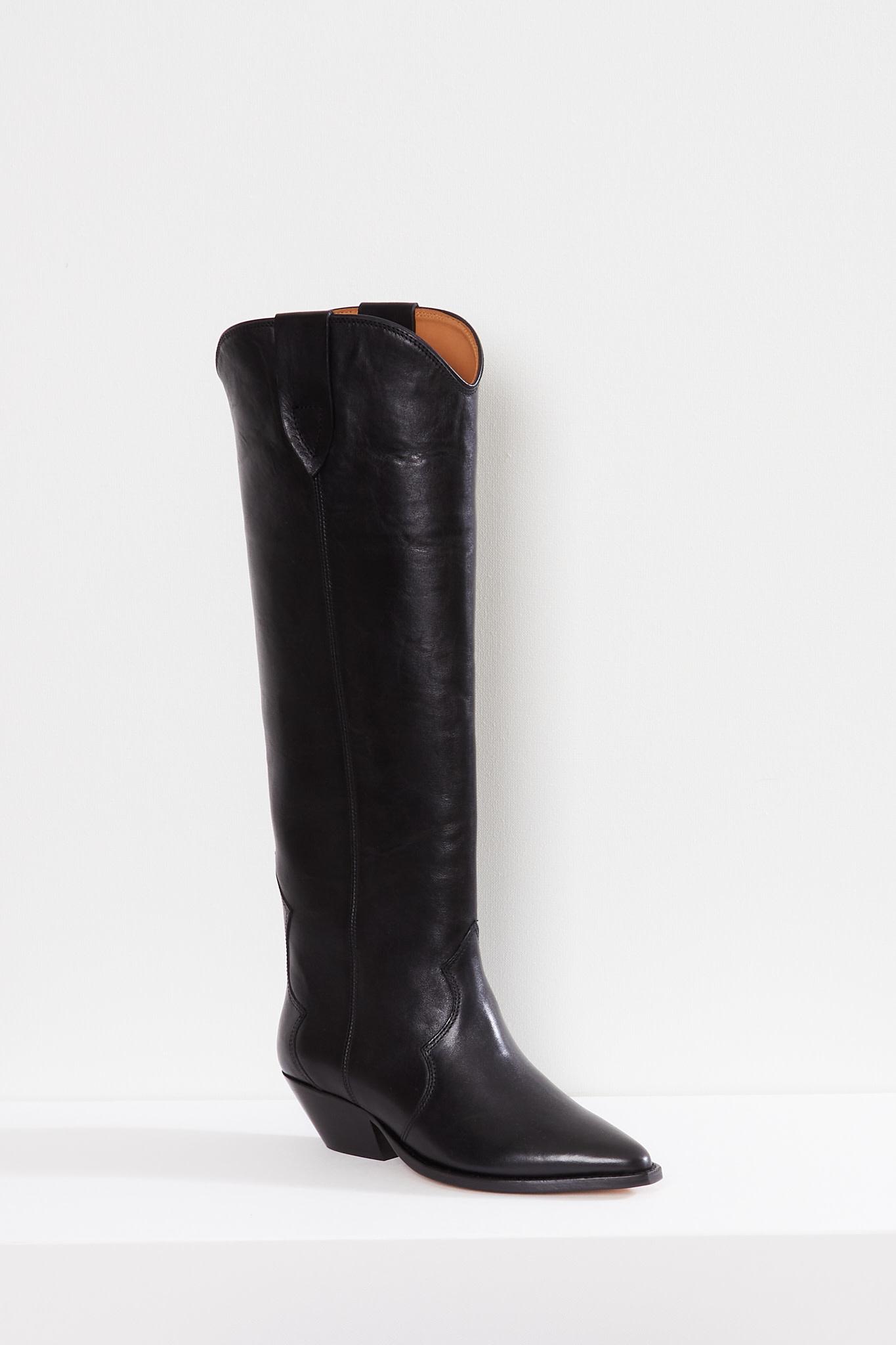 Isabel Marant Denvee iconic leather boots