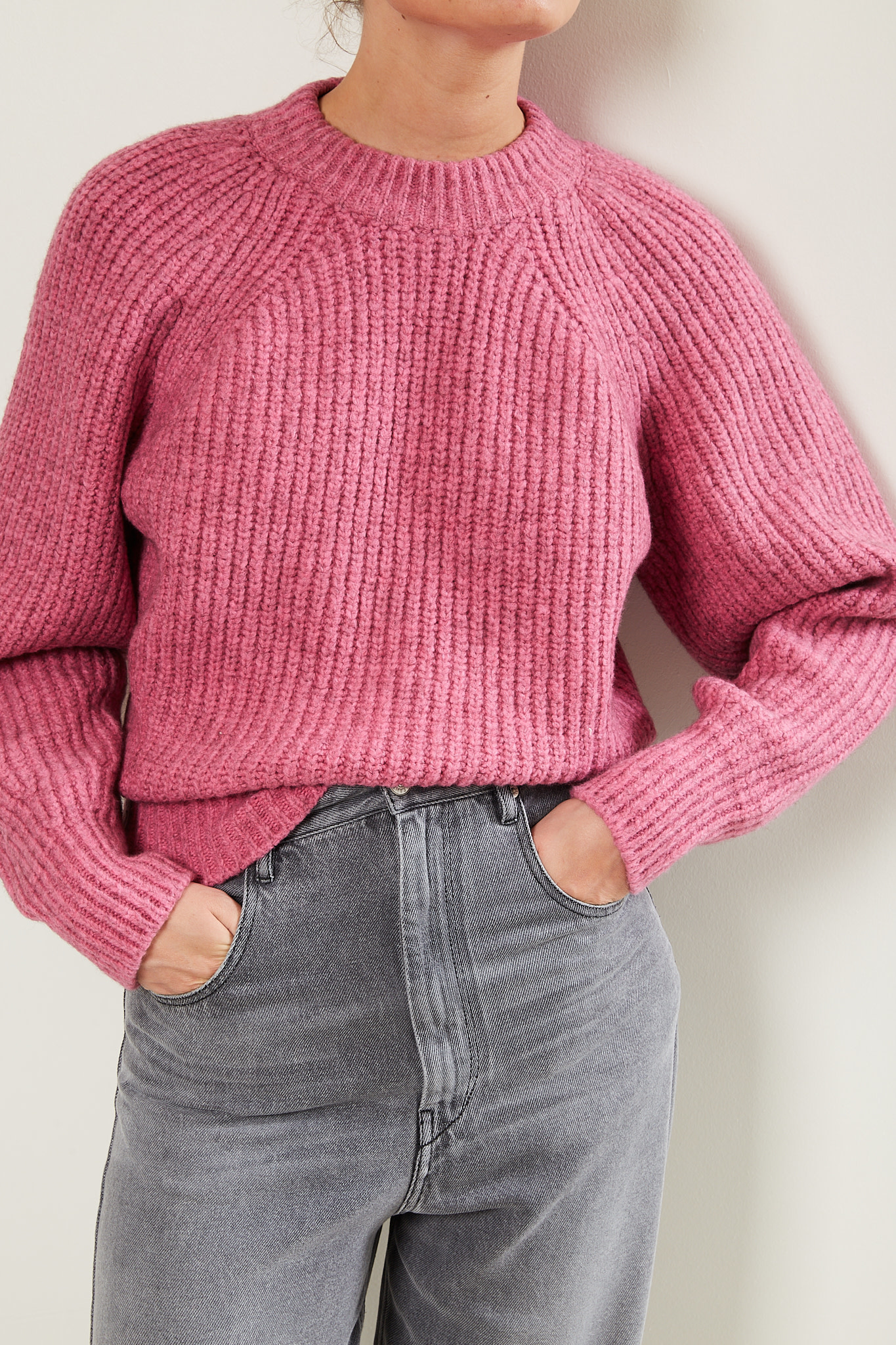 Isabel Marant Rosy fluffy knit sweater
