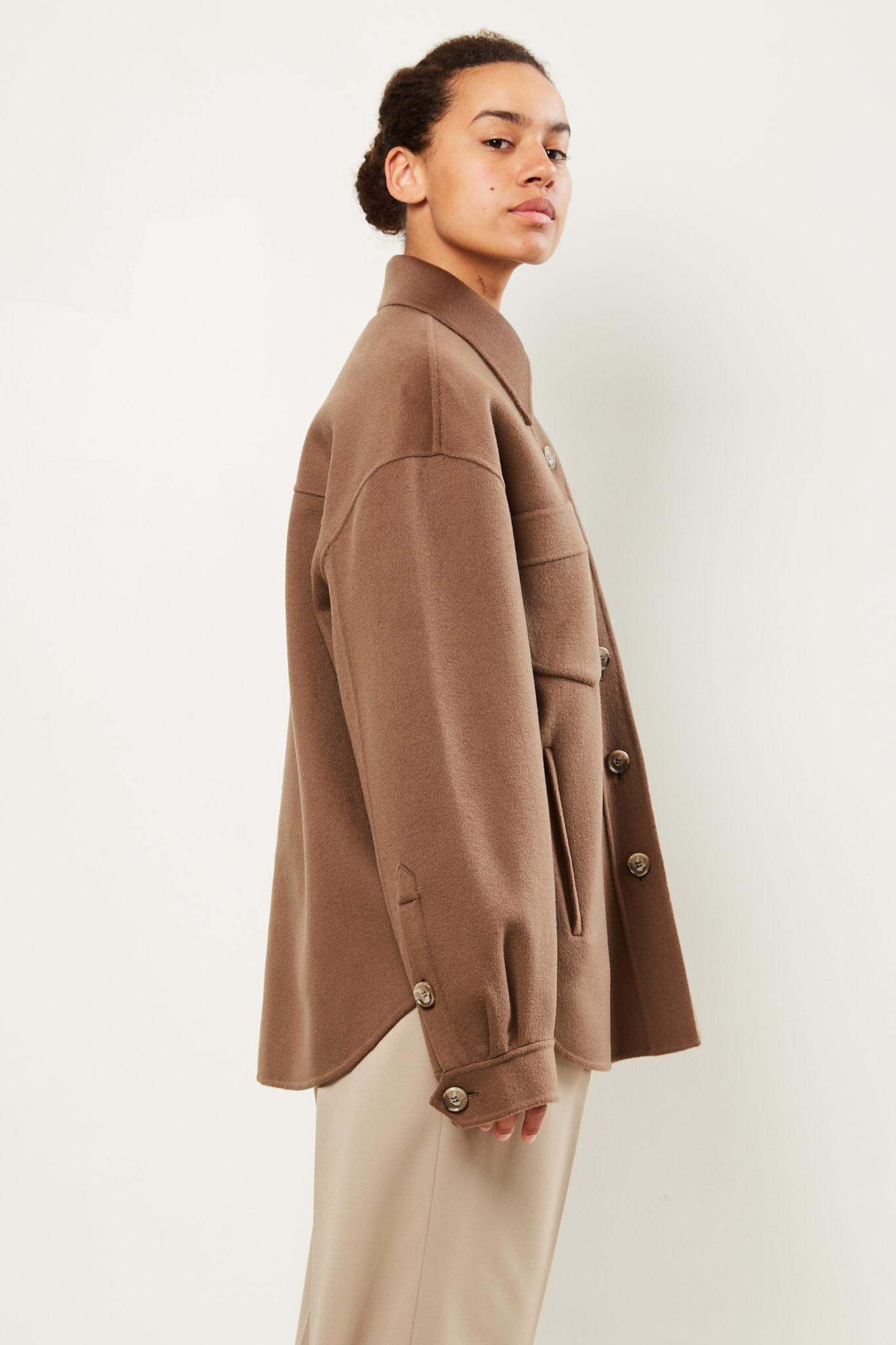 Nanushka - Perth double wool shirt coat