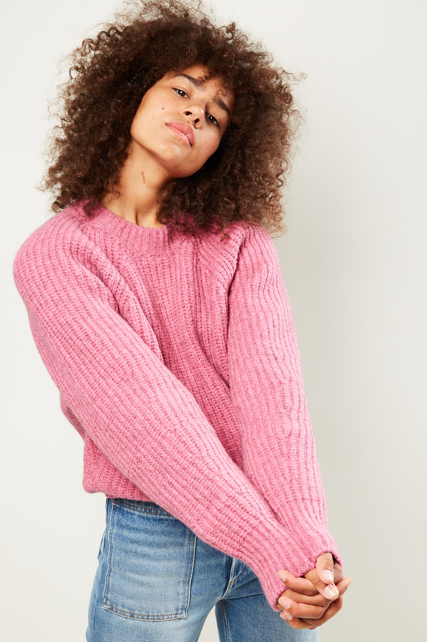 Isabel Marant - Rosy fluffy knit sweater