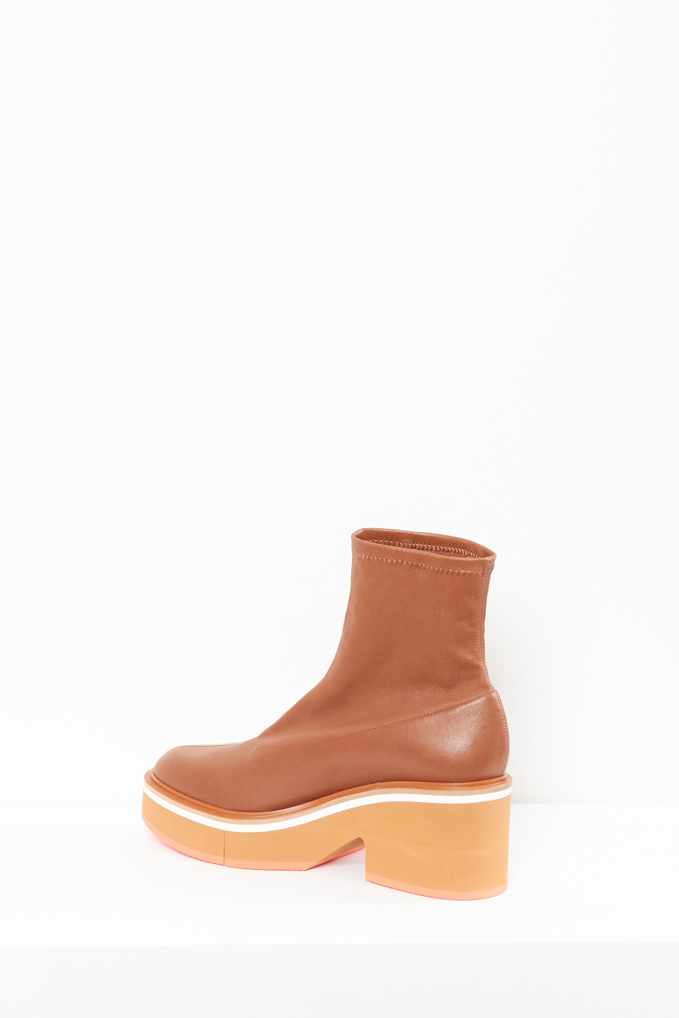 Clergerie - Albane stretch leather boots