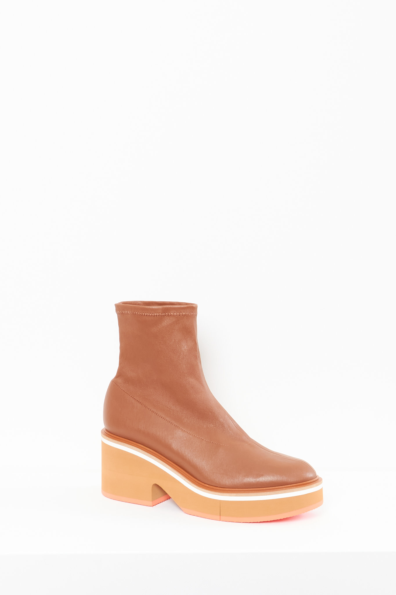 Clergerie Albane stretch leather boots