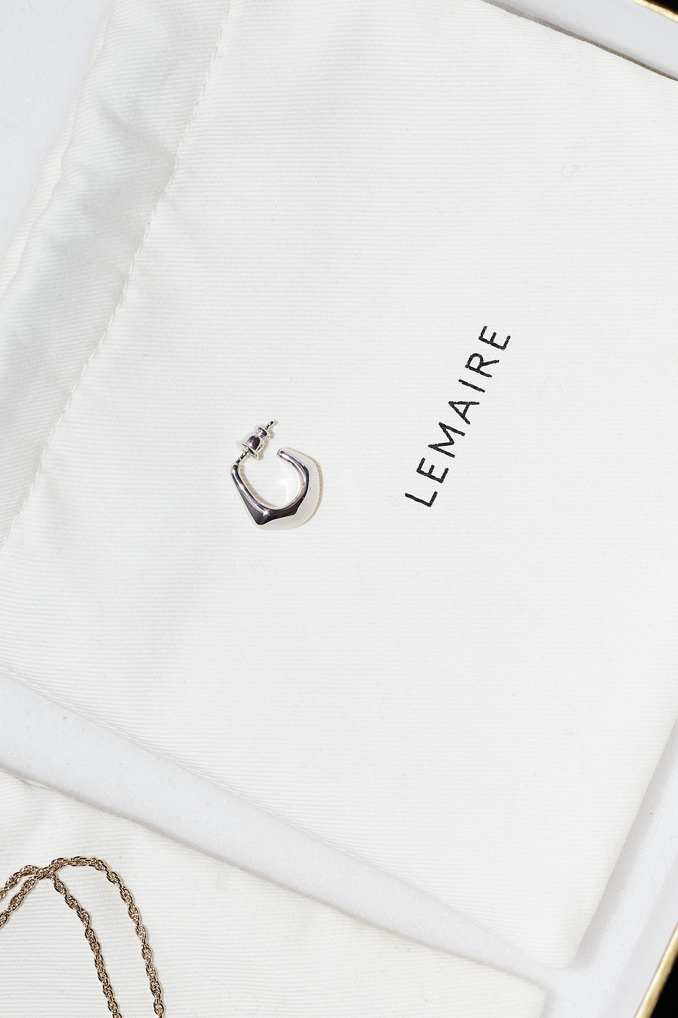 Lemaire Mini drop earring