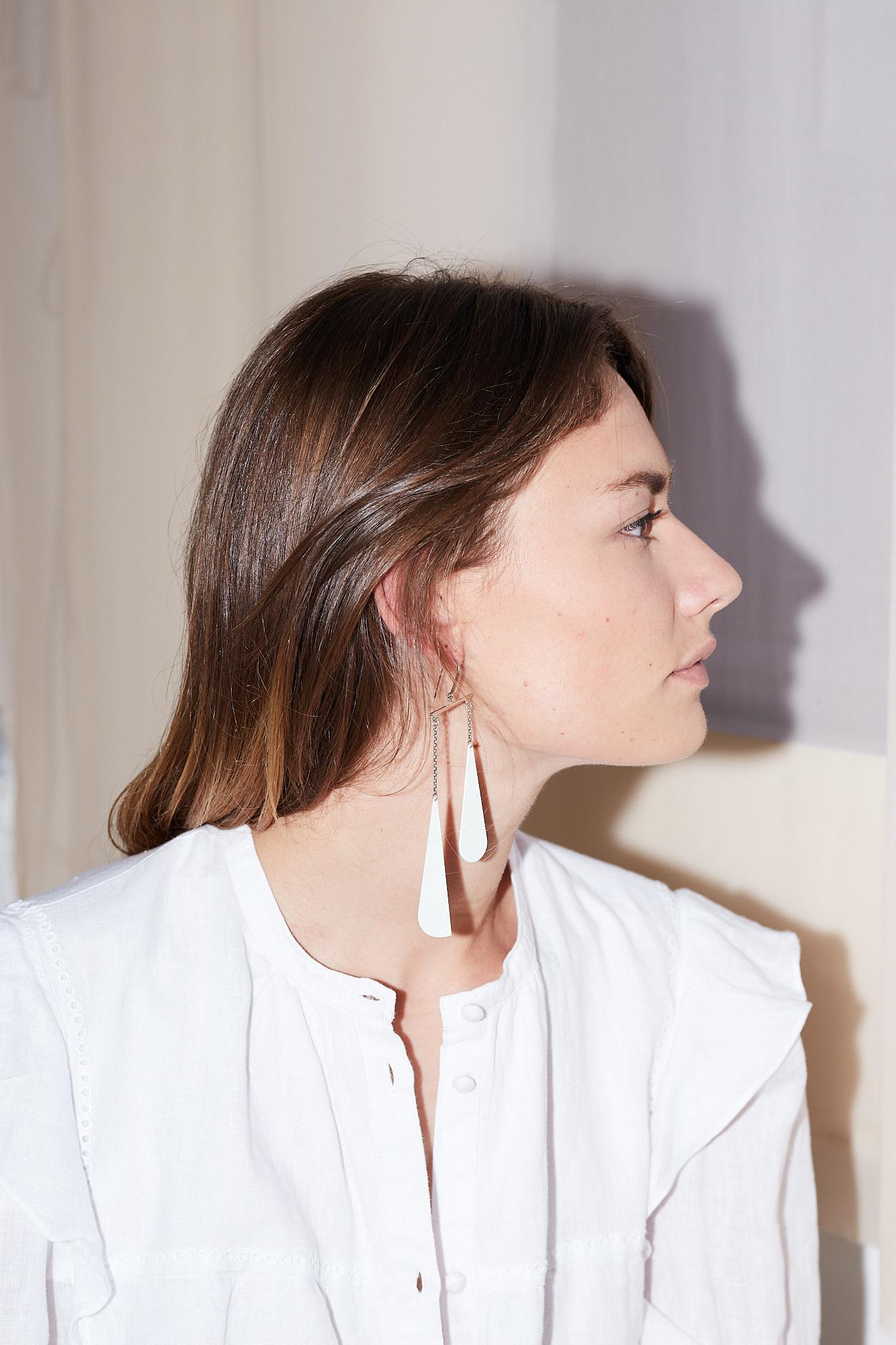 Isabel Marant - Boucle d'Oreill color drop earrings