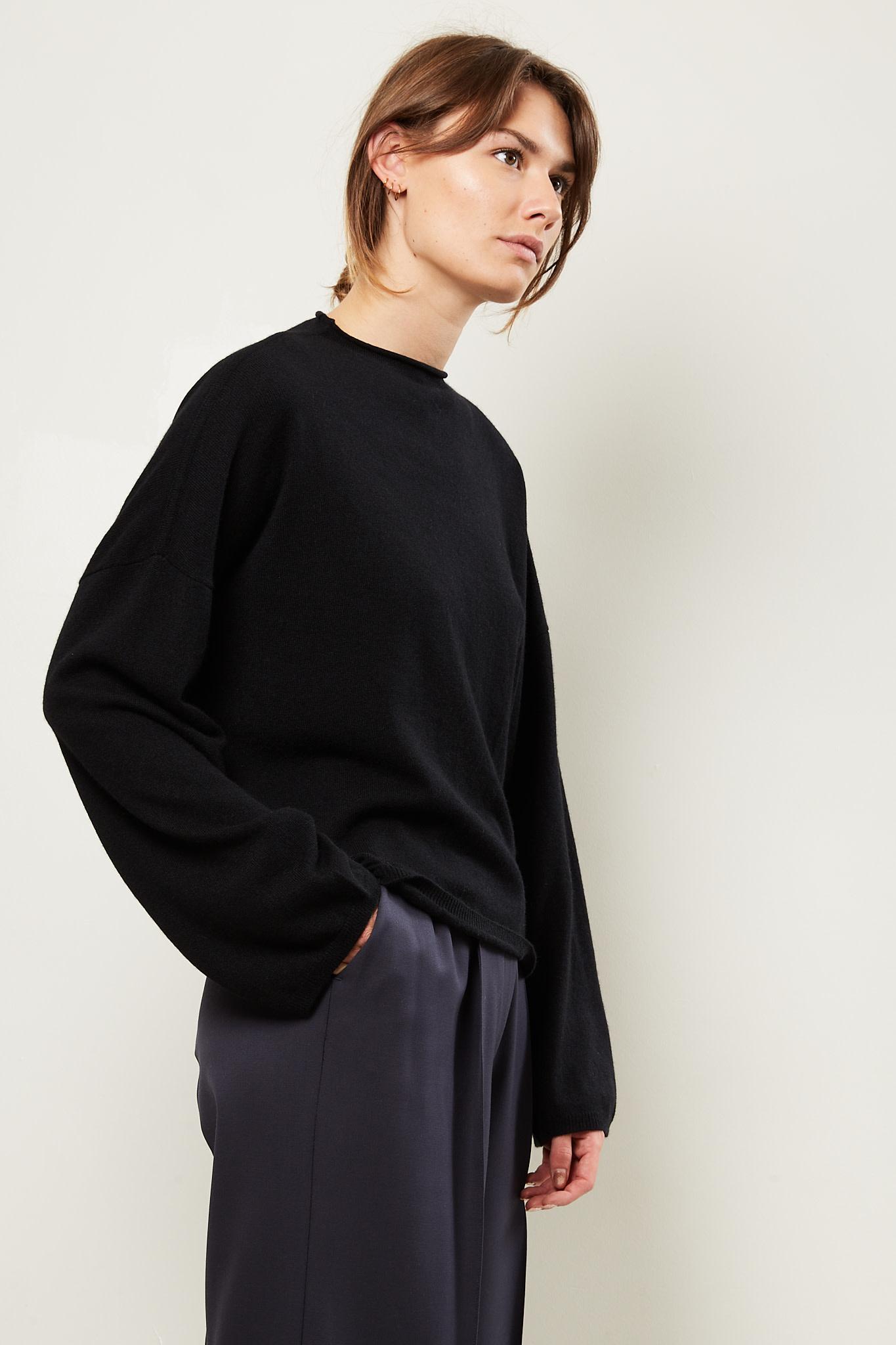 loulou studio Vacca cashmere sweater