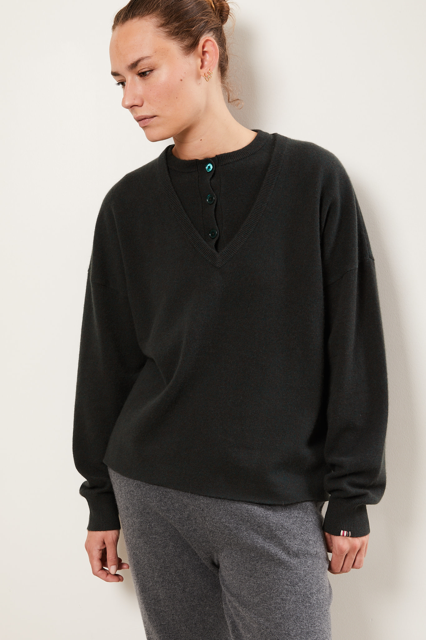 extreme cashmere - Clac cropped sweater