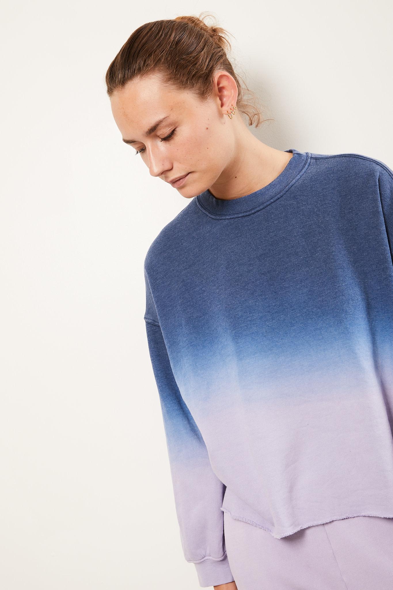 Xirena Honor dip dye sweatshirt