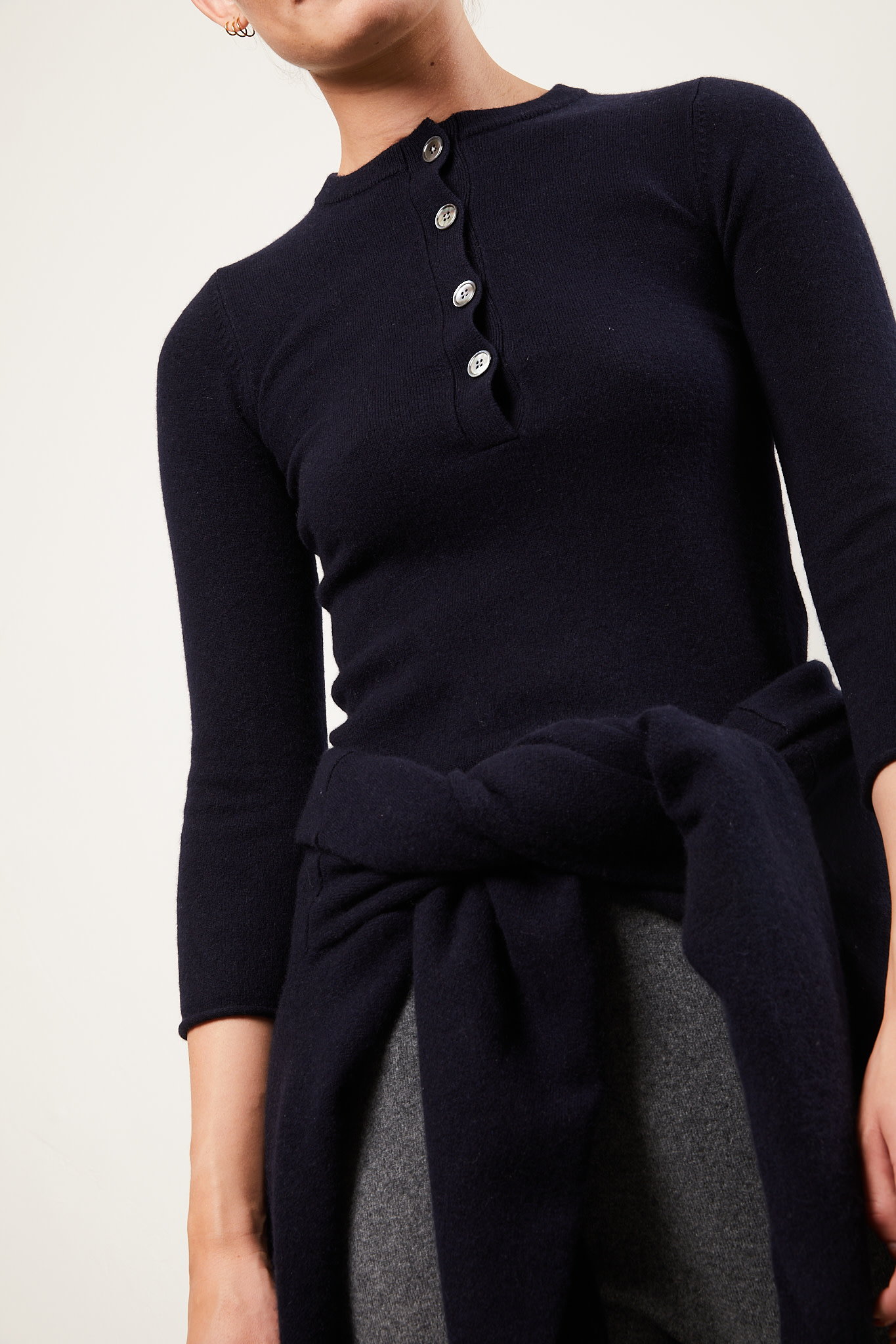extreme cashmere Ema shrunken fit sweater