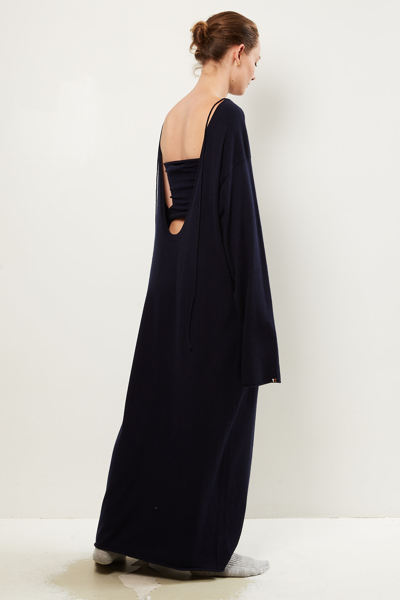 extreme cashmere Scoop dress