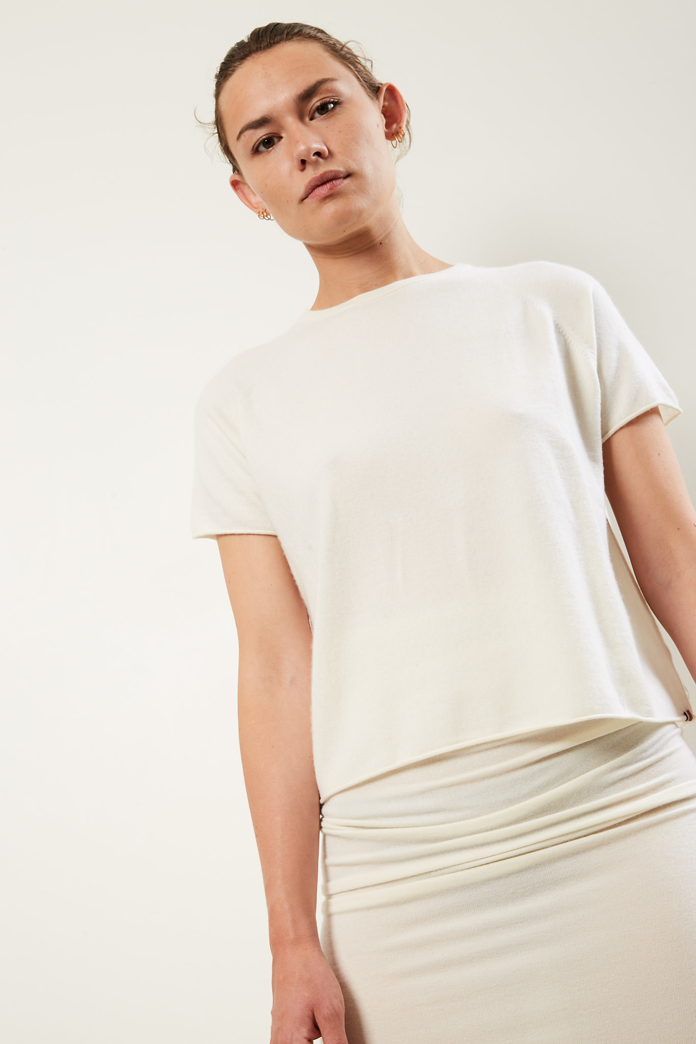 extreme cashmere - Todd cropped t-shirt