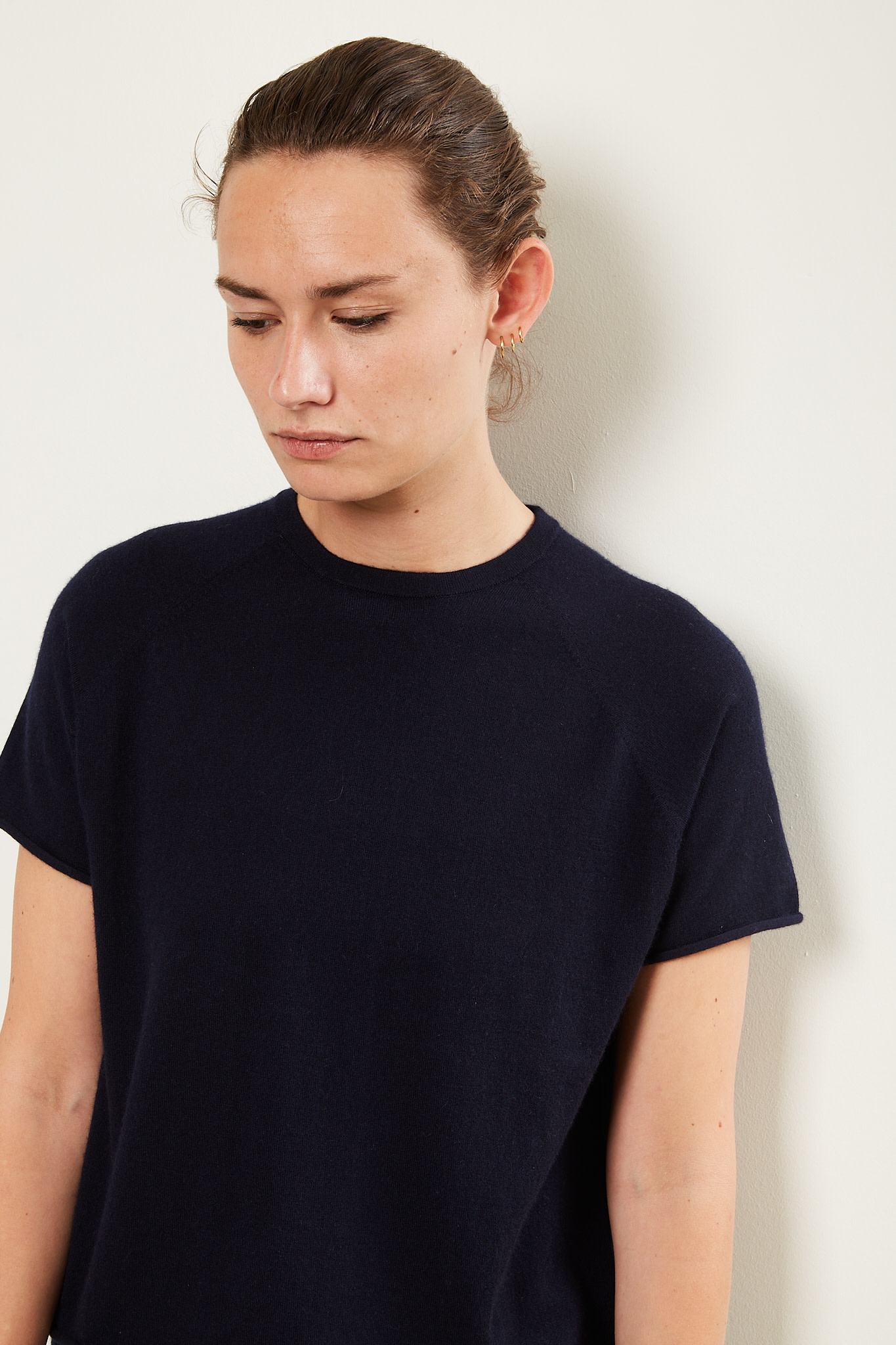extreme cashmere Todd cropped t-shirt