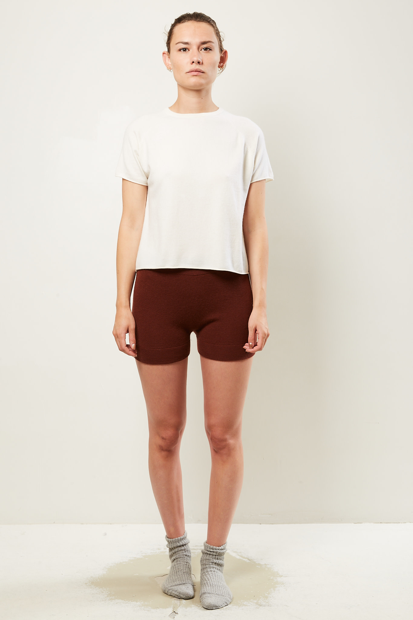 extreme cashmere - Very fitted shorts