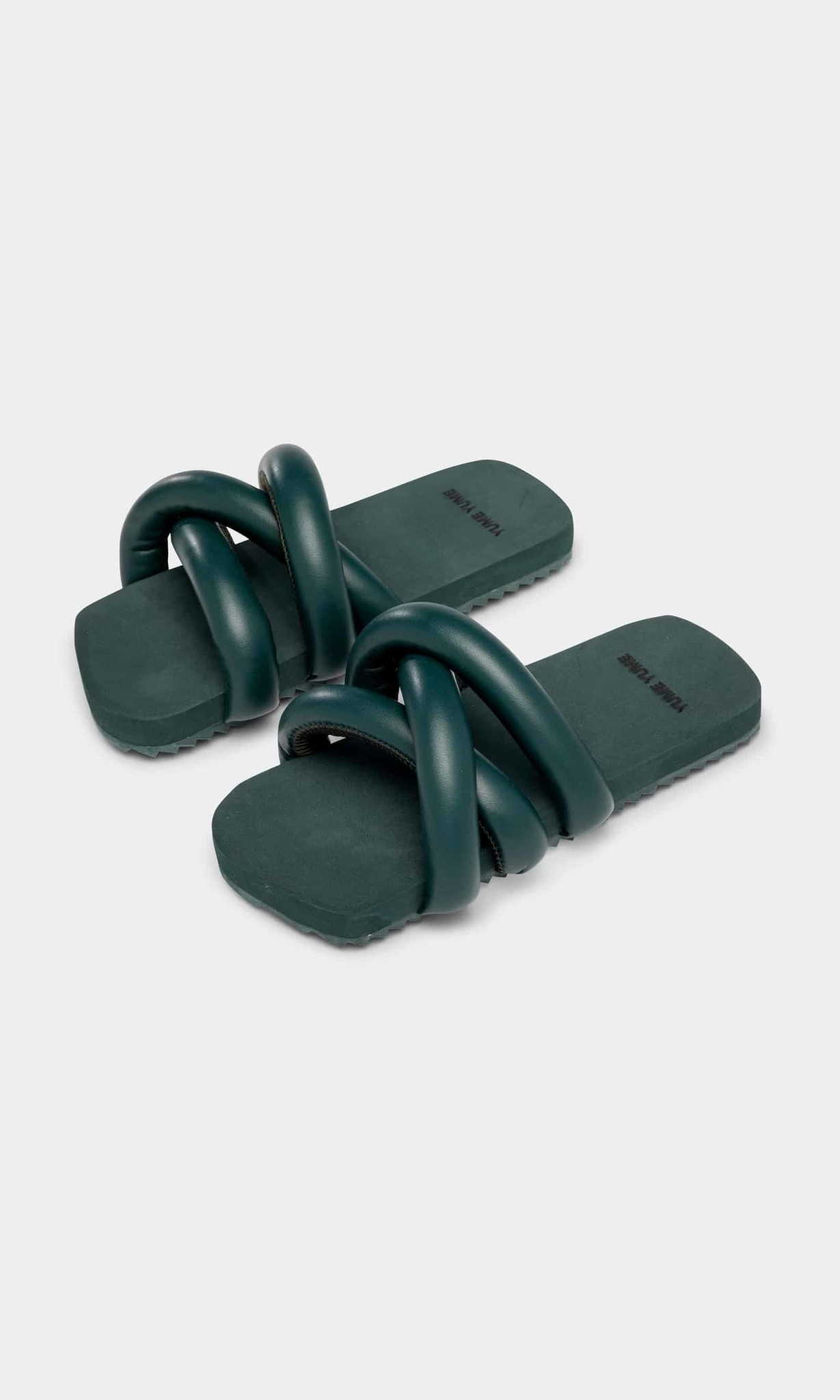 Yume Yume Tyre vegan leather slide