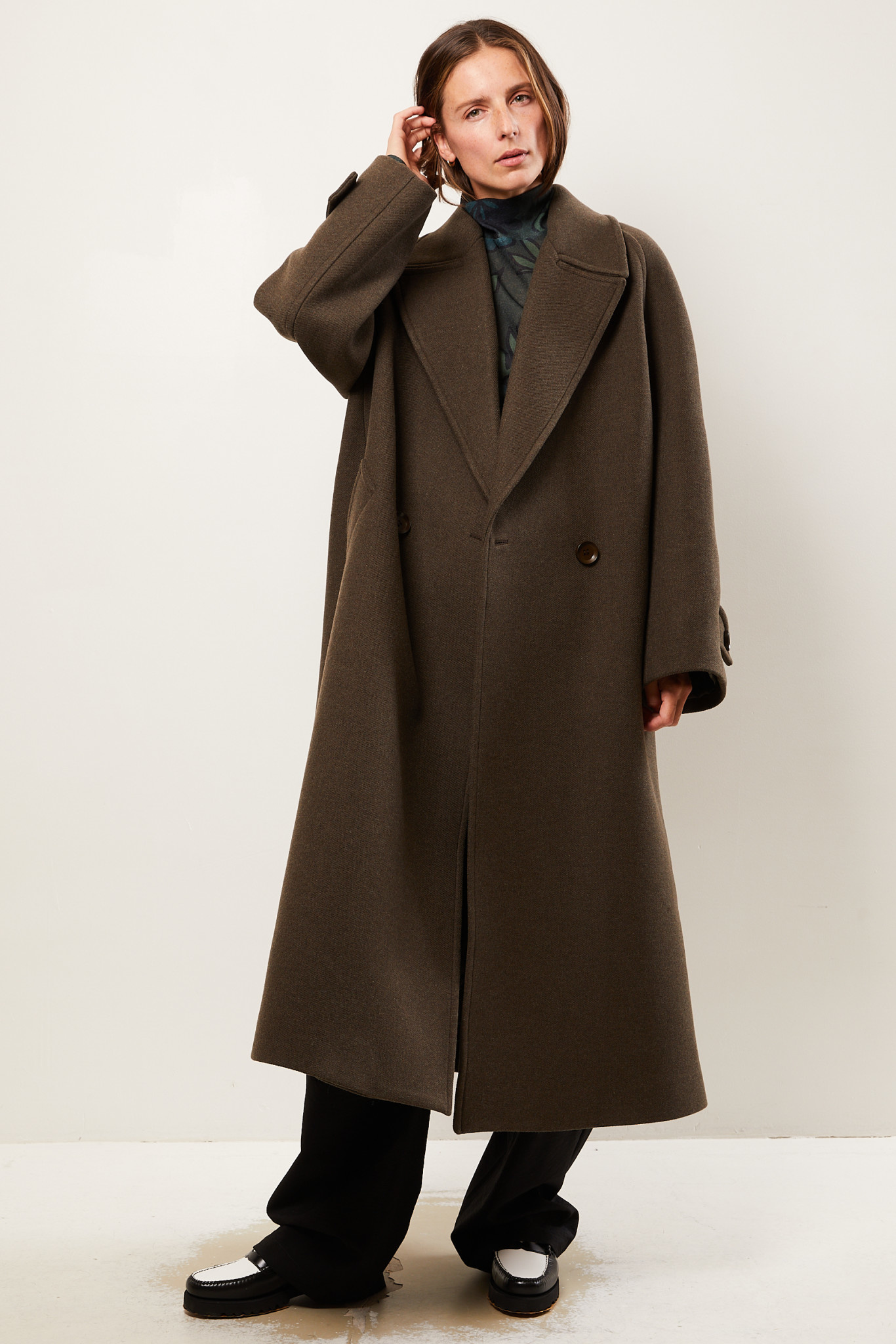Christian Wijnants Cilian recycled wool coat