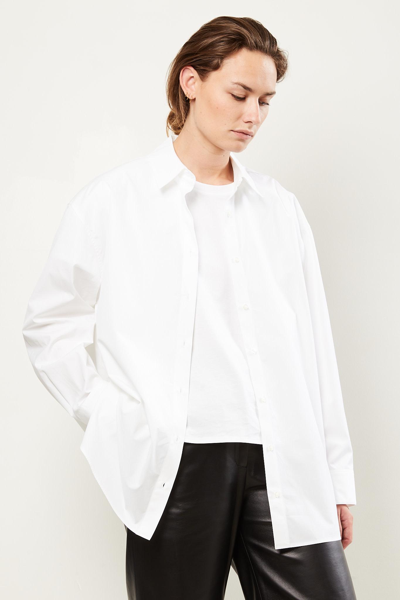 loulou studio Espanto cotton shirt