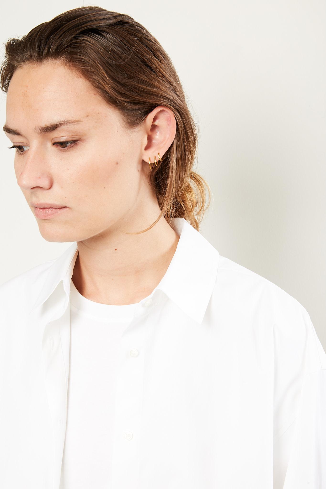 loulou studio - Espanto cotton shirt