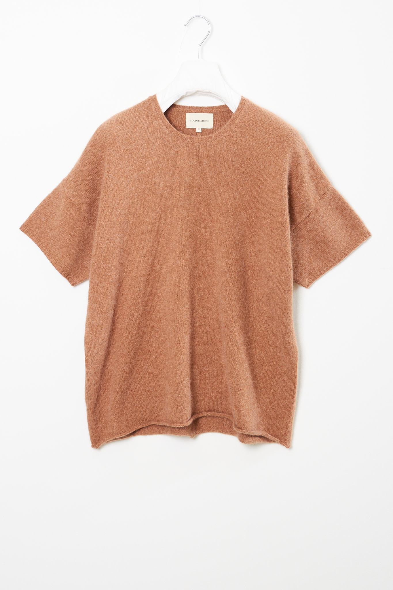 loulou studio Izaro short sleeves sweater