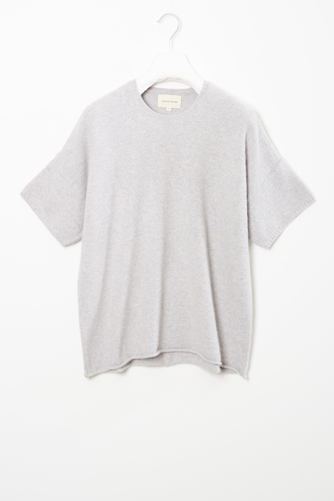 loulou studio - Izaro short sleeves sweater
